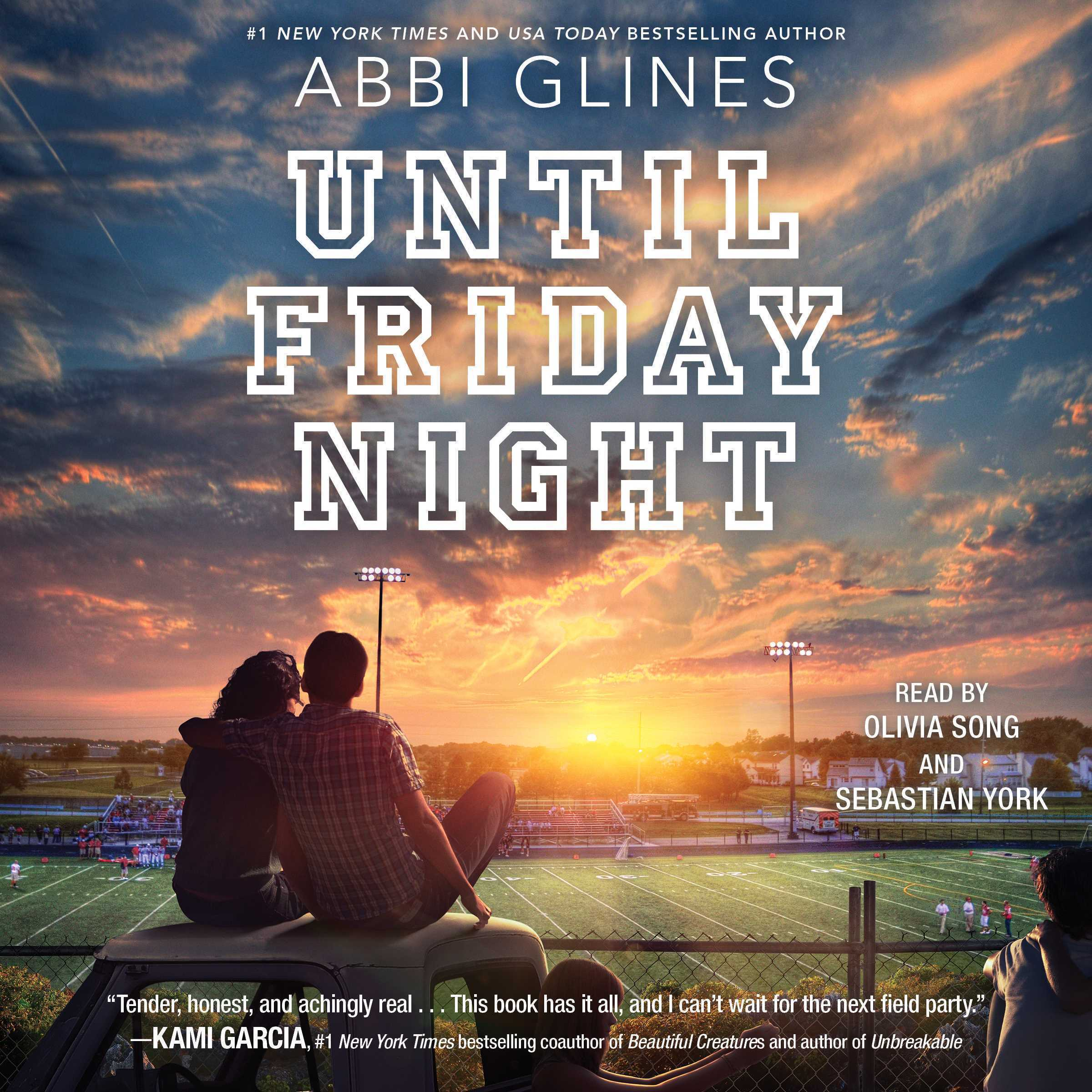 Printable Until Friday Night Audiobook Cover Art