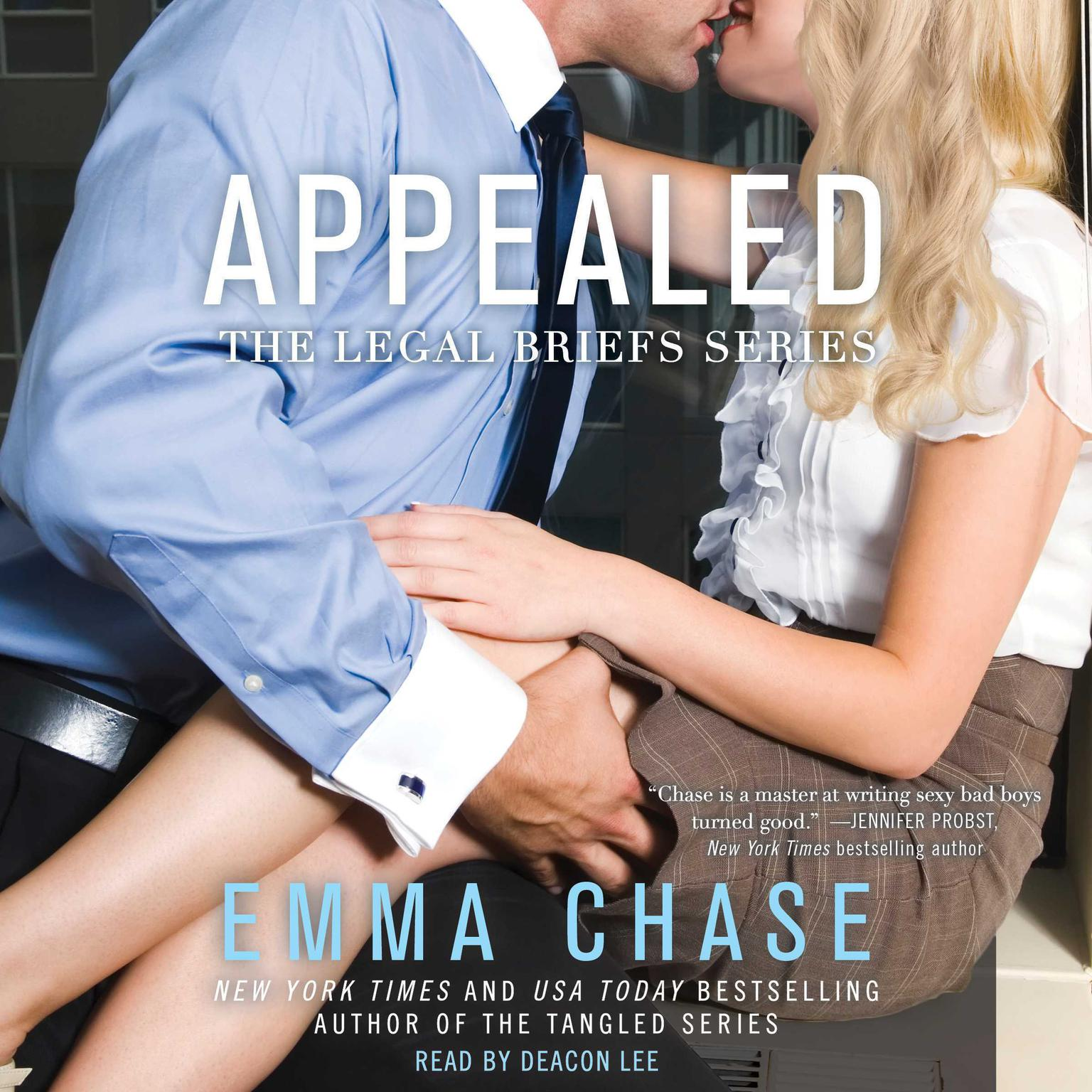 Printable Appealed Audiobook Cover Art