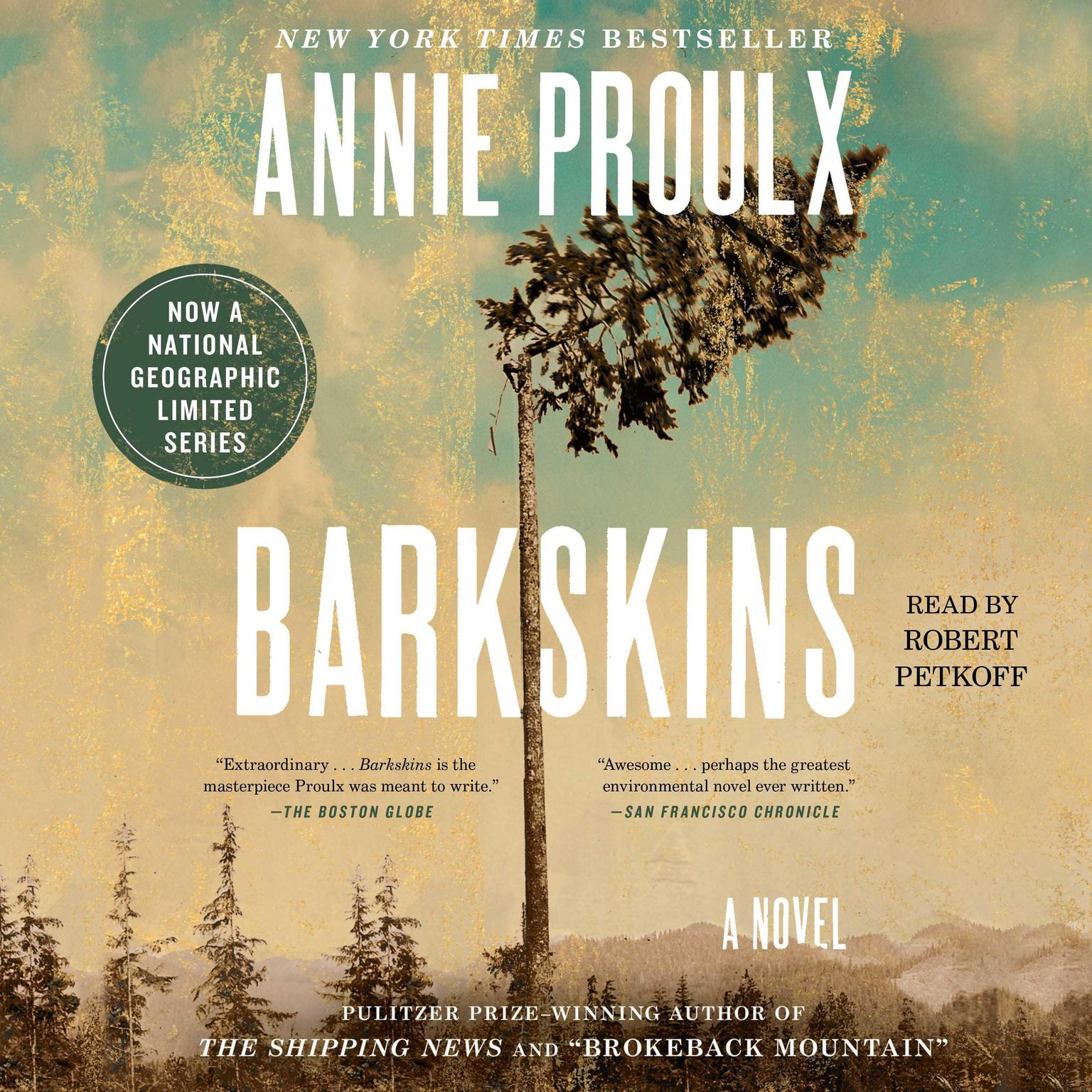Printable Barkskins: A Novel Audiobook Cover Art