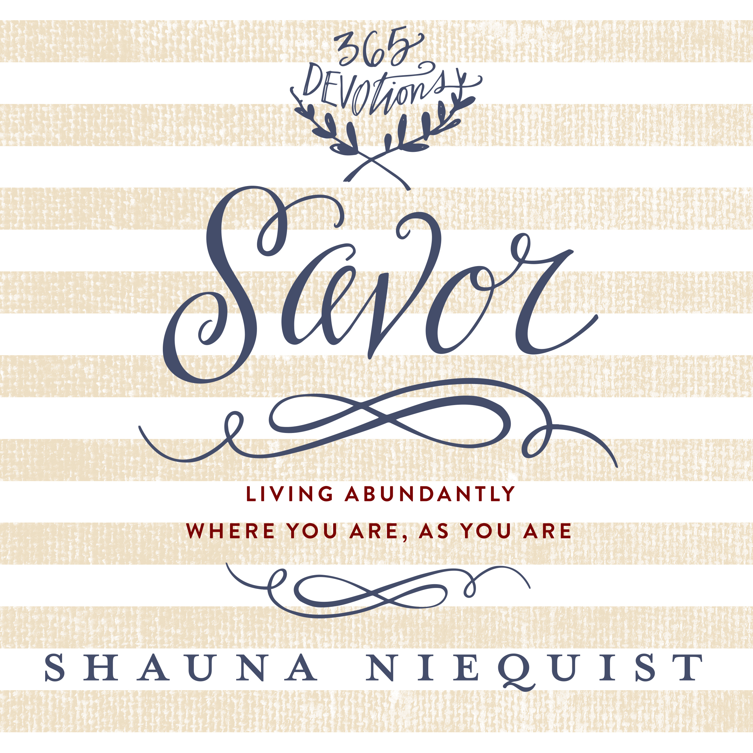 Printable Savor: Living Abundantly Where You Are, As You Are Audiobook Cover Art