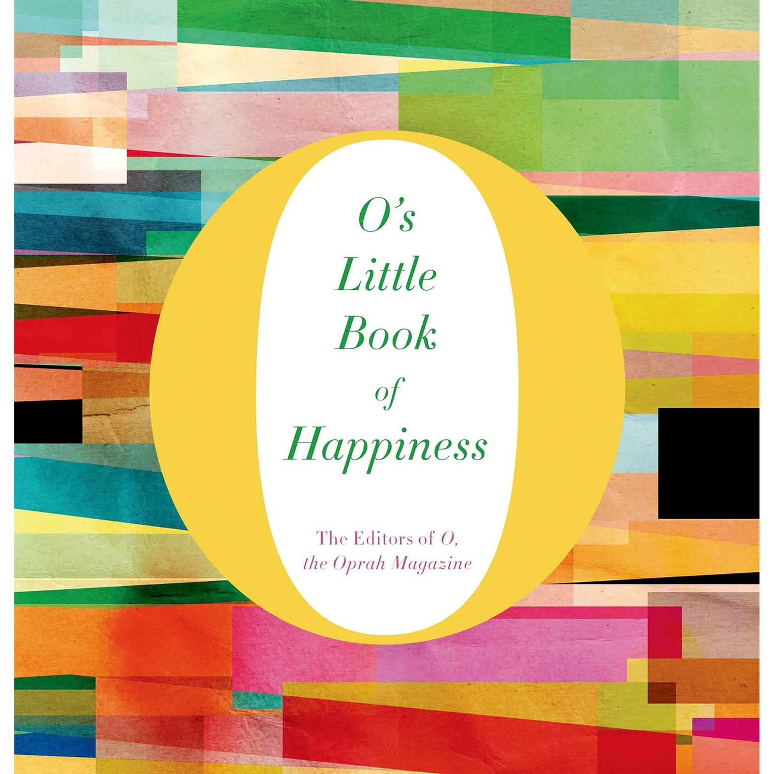 Printable O's Little Book of Happiness Audiobook Cover Art