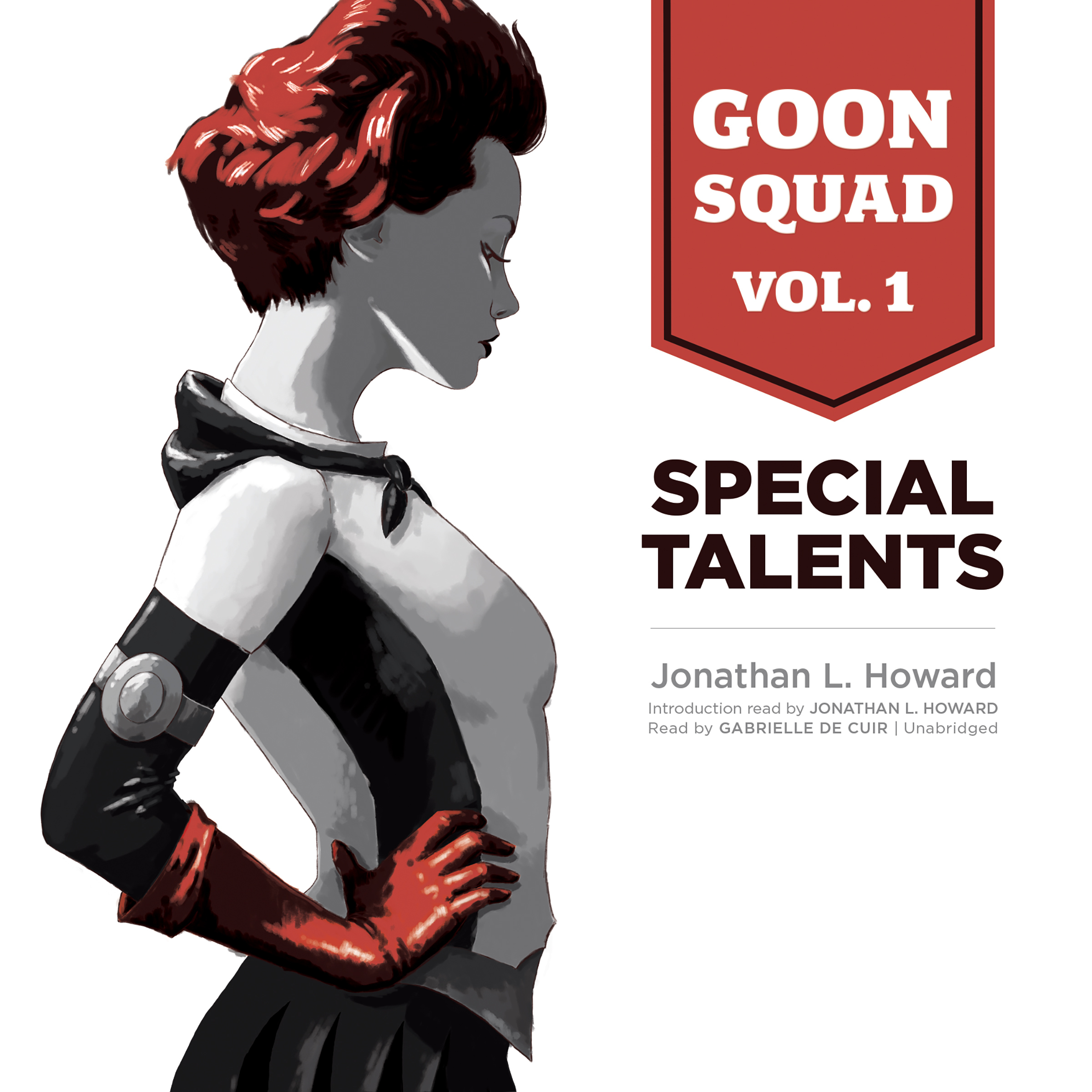 Printable Goon Squad, Vol. 1: Special Talents Audiobook Cover Art
