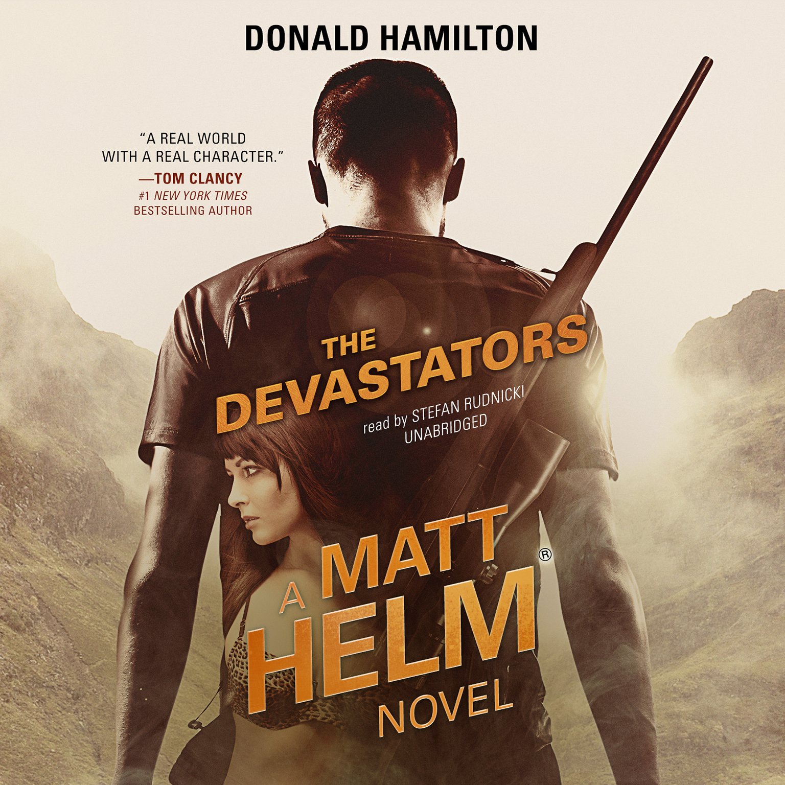 Printable The Devastators Audiobook Cover Art