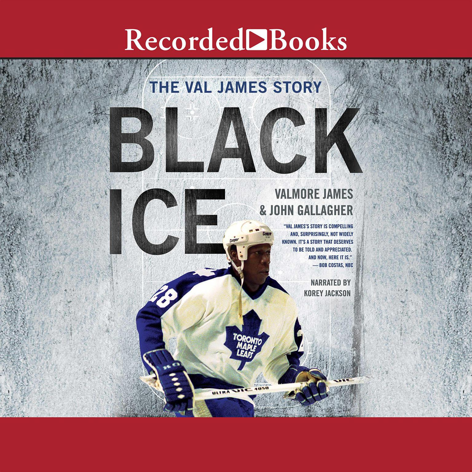 Printable Black Ice: The Val James Story Audiobook Cover Art