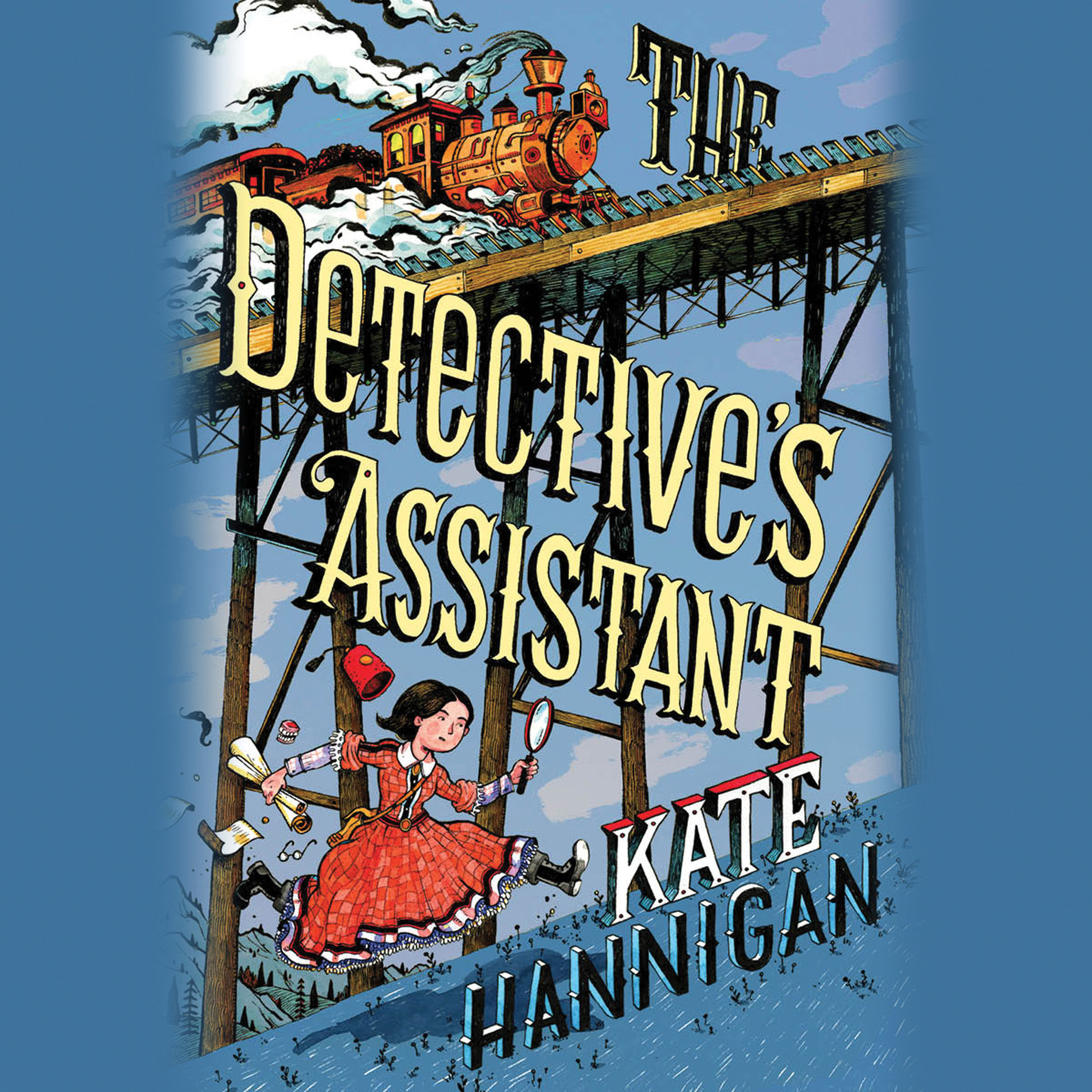 Printable The Detective's Assistant Audiobook Cover Art