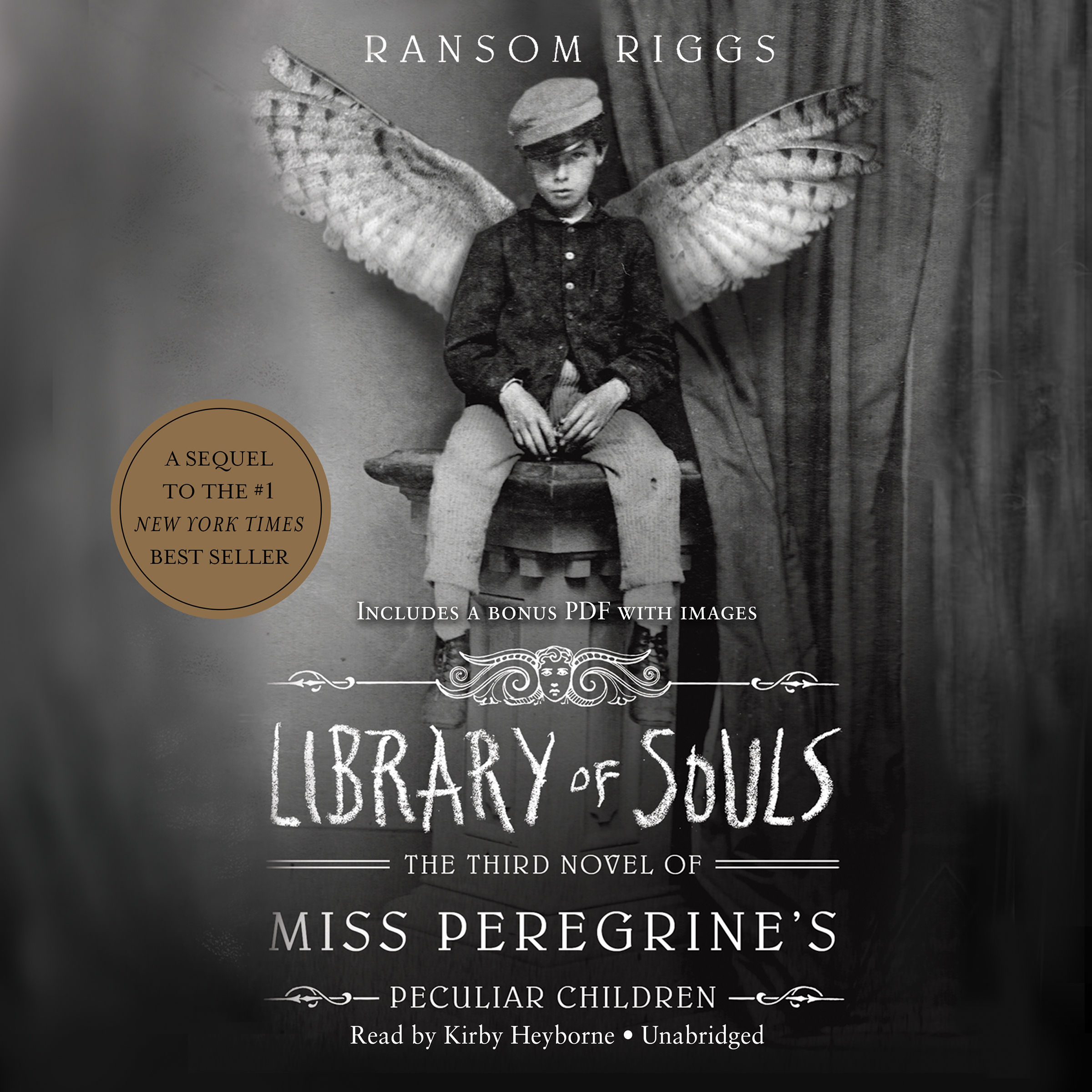 Printable Library of Souls: The Third Novel of Miss Peregrine's Peculiar Children Audiobook Cover Art