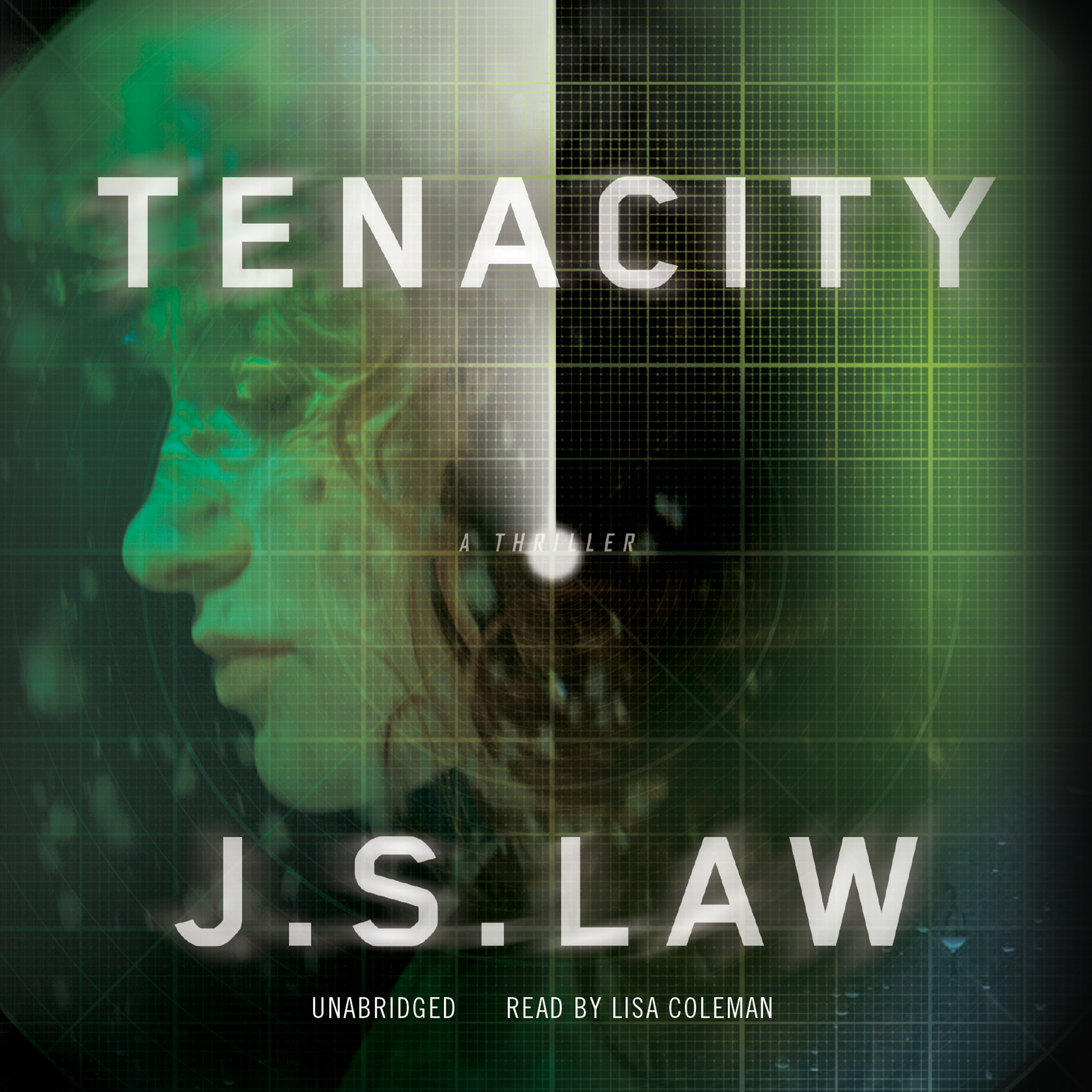Printable Tenacity: A Thriller Audiobook Cover Art
