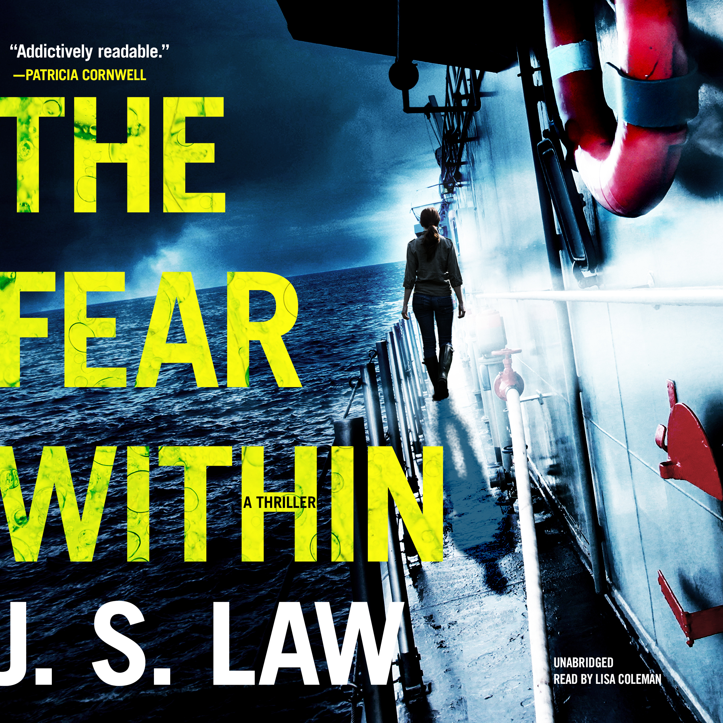 Printable The Fear Within: A Thriller Audiobook Cover Art