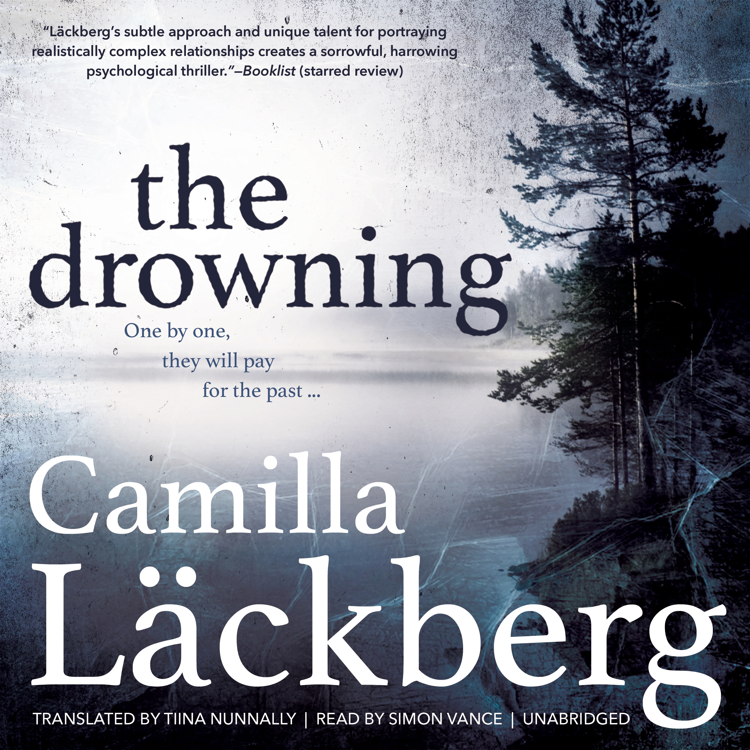 Printable The Drowning Audiobook Cover Art