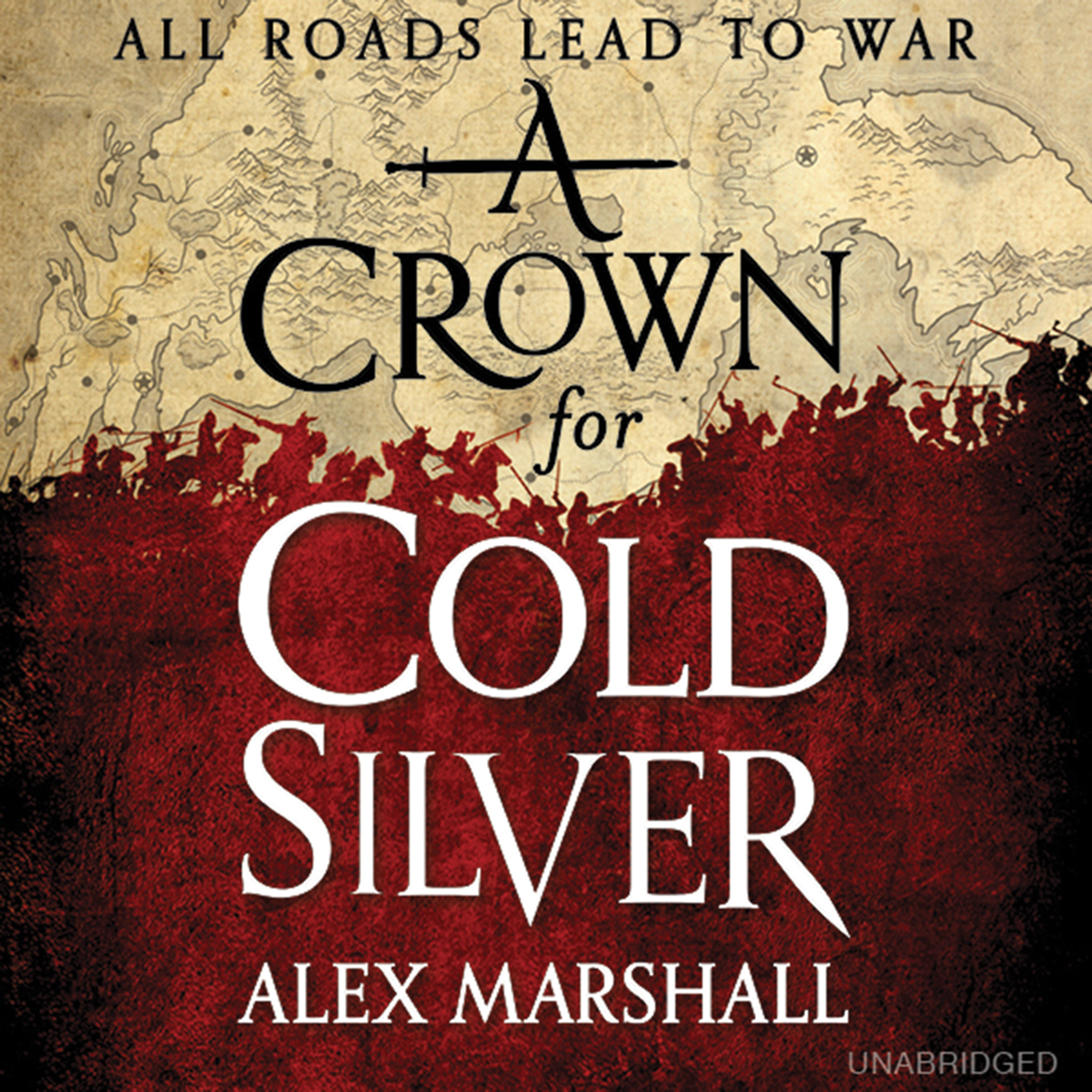 Printable A Crown for Cold Silver Audiobook Cover Art