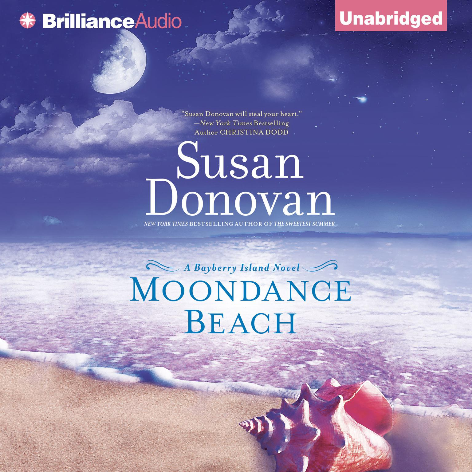 Printable Moondance Beach Audiobook Cover Art