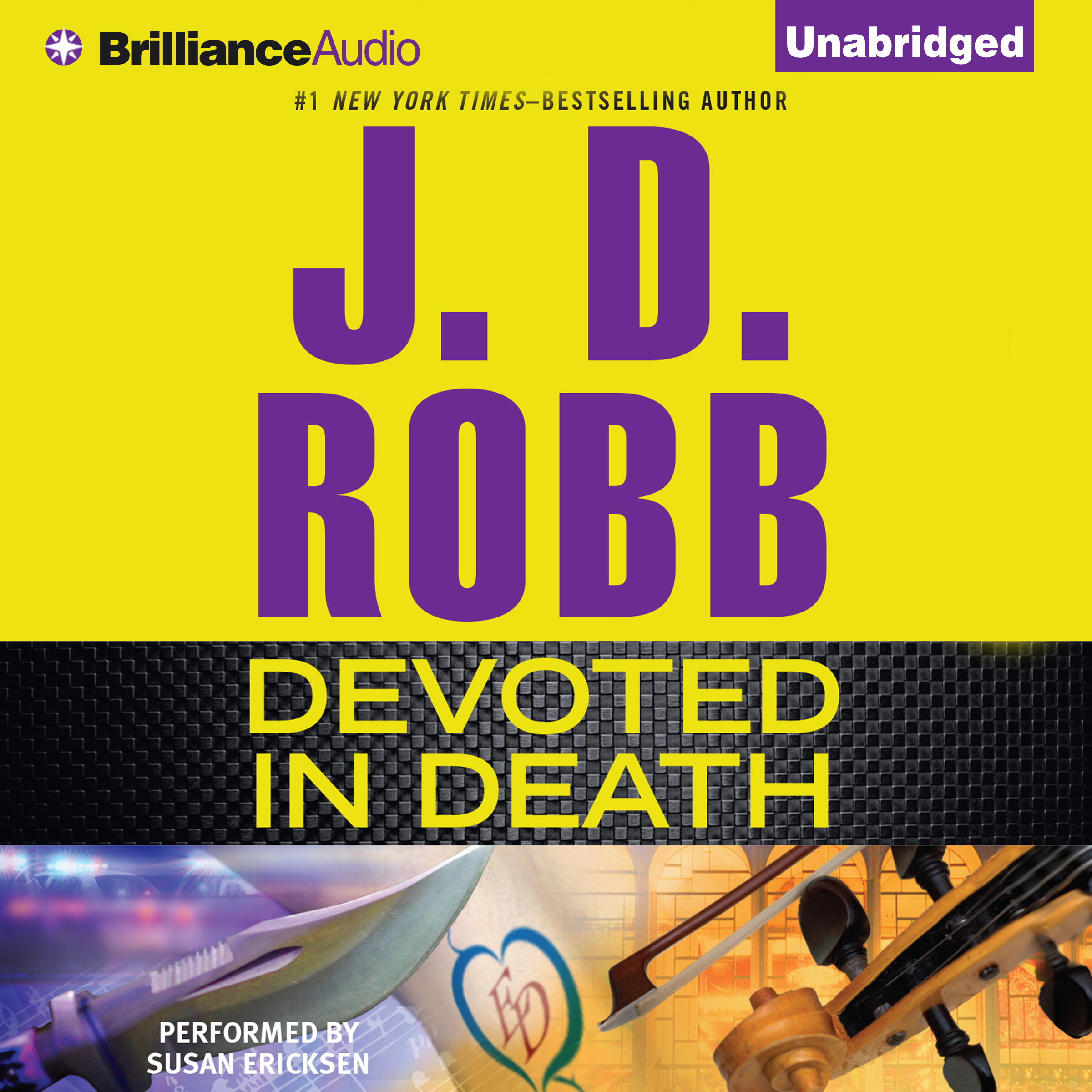 Printable Devoted in Death Audiobook Cover Art