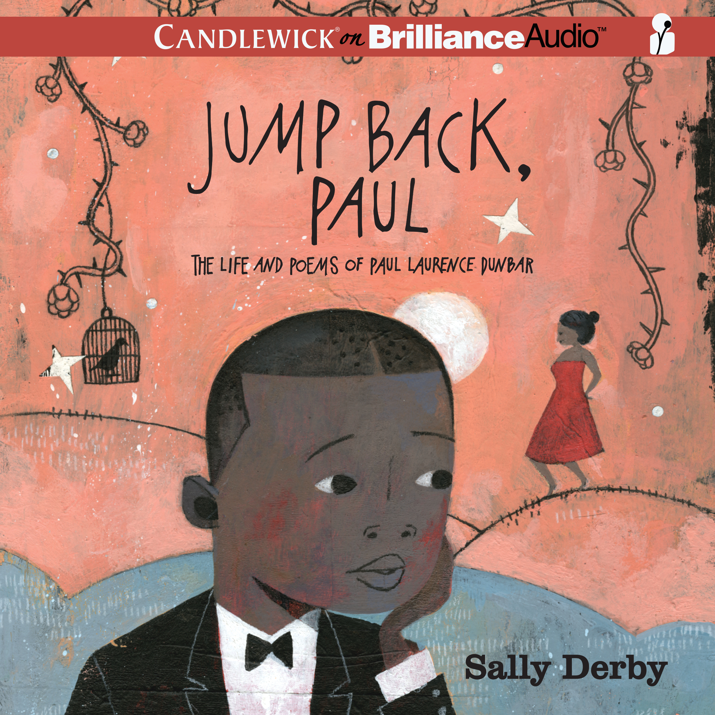 Printable Jump Back, Paul: The Life and Poems of Paul Laurence Dunbar Audiobook Cover Art