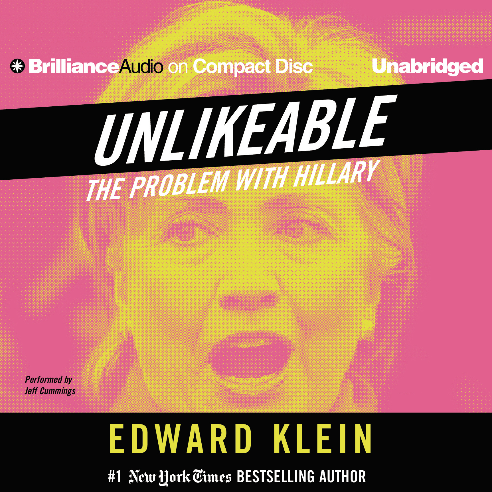 Printable Unlikeable: The Problem with Hillary Audiobook Cover Art