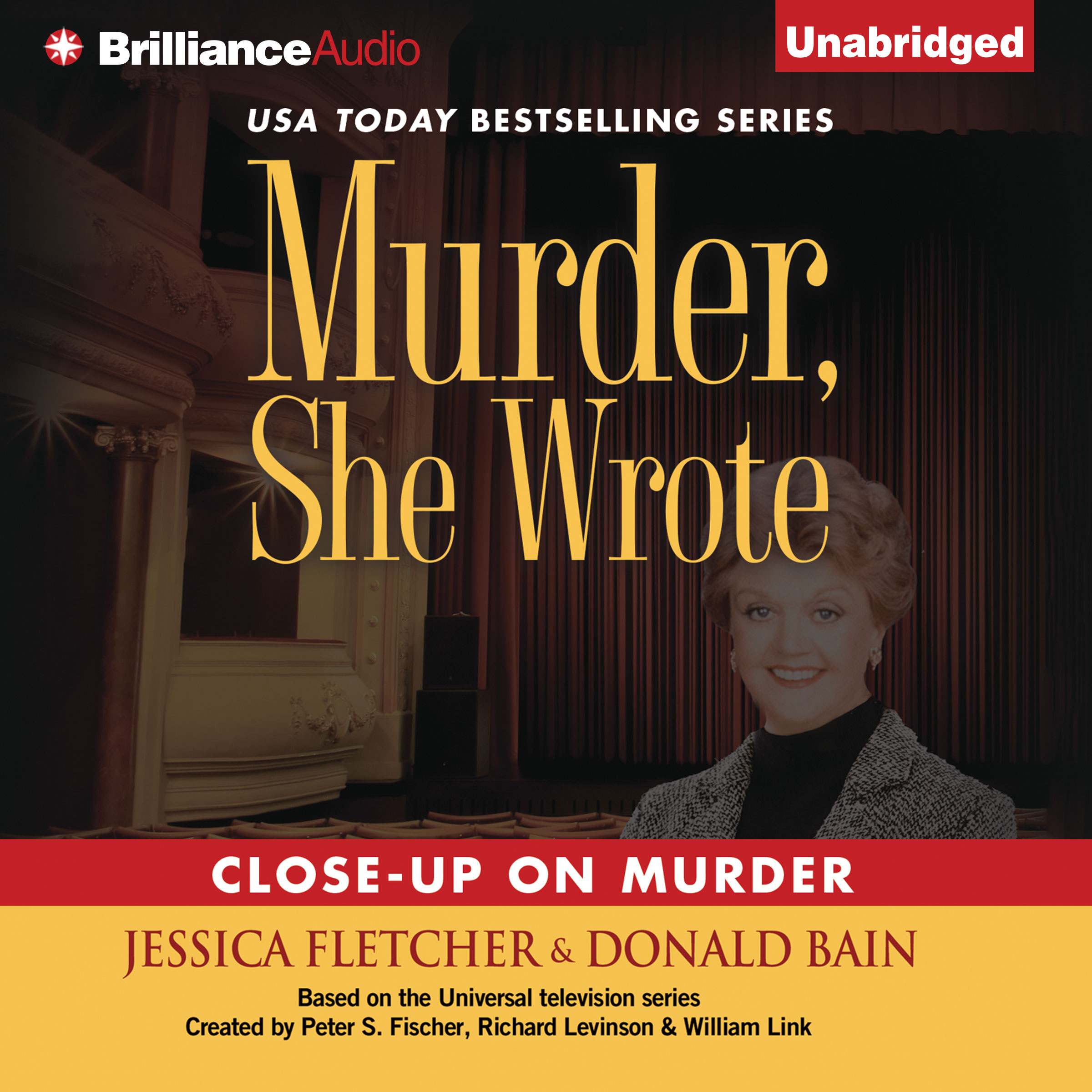 Printable Close-Up on Murder: A Murder, She Wrote Mystery Audiobook Cover Art