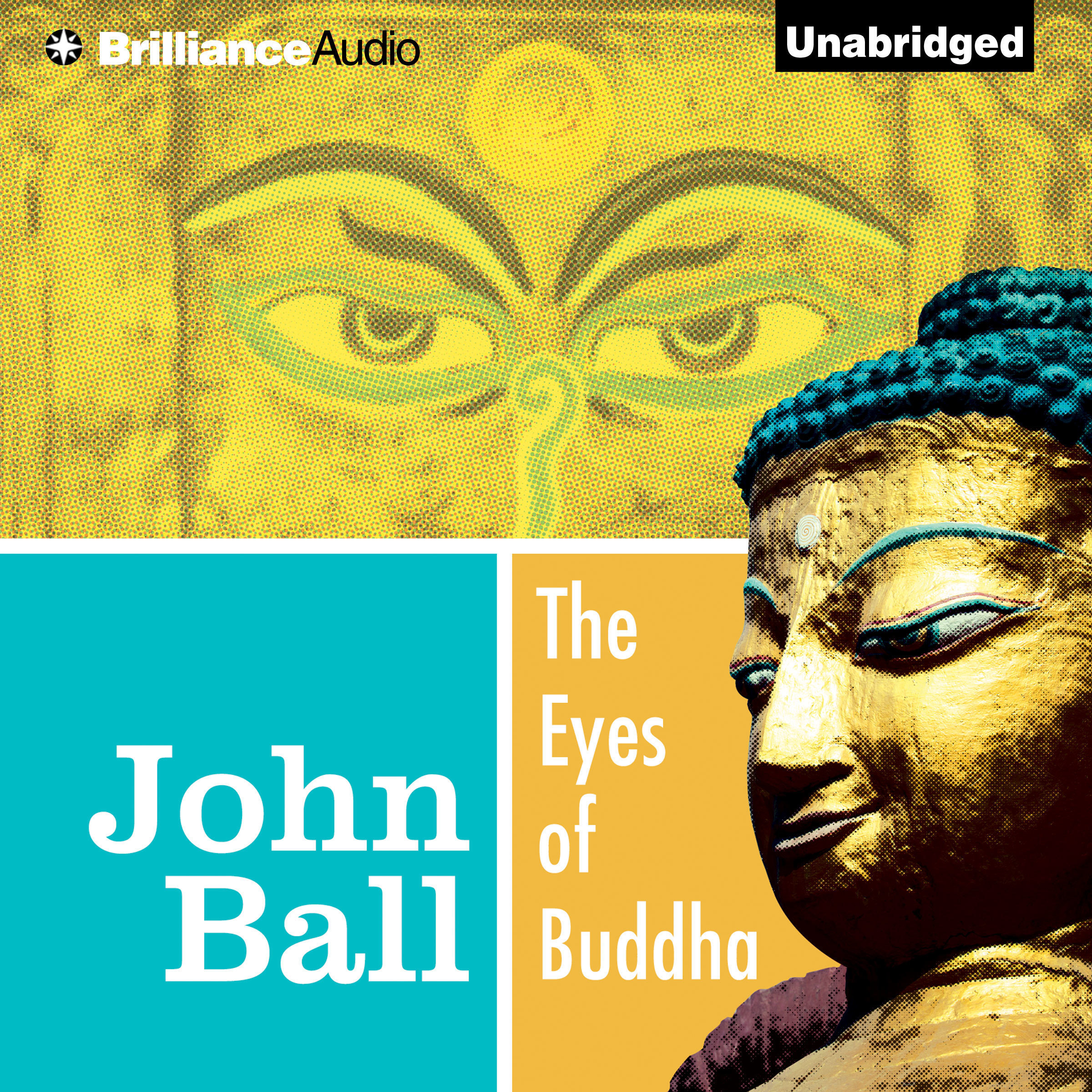 Printable The Eyes of Buddha Audiobook Cover Art