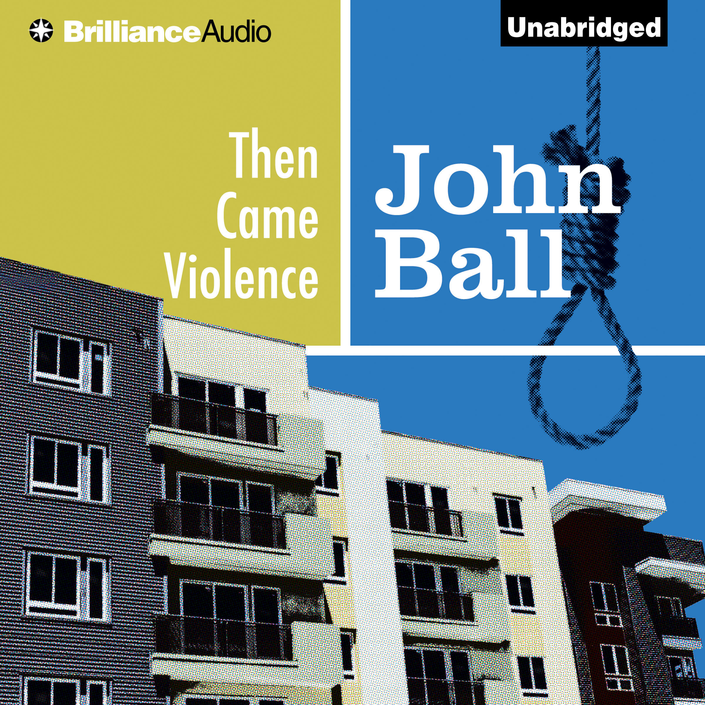 Printable Then Came Violence Audiobook Cover Art