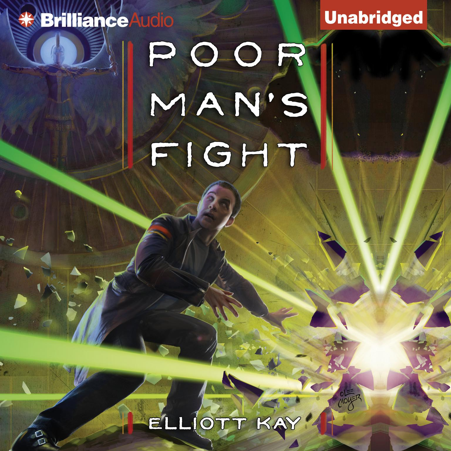 Printable Poor Man's Fight Audiobook Cover Art