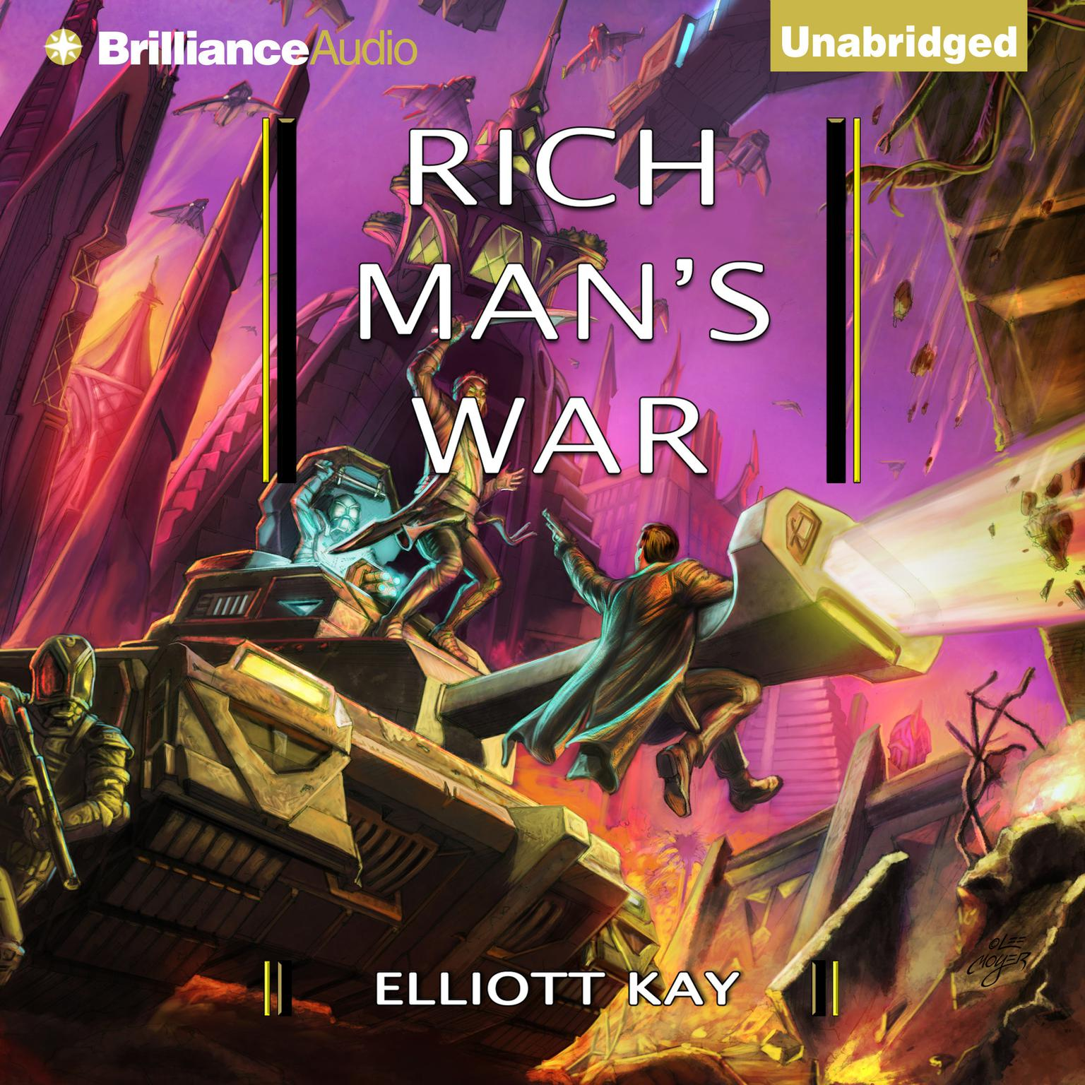 Printable Rich Man's War Audiobook Cover Art