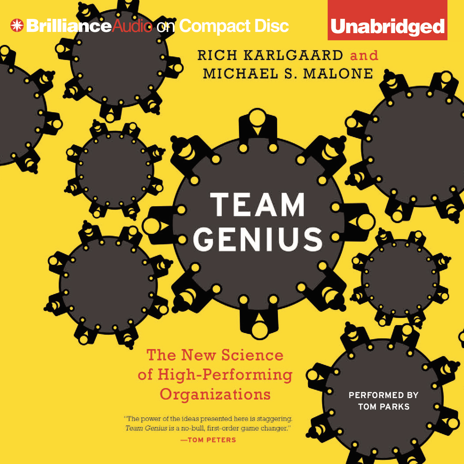 Printable Team Genius: The New Science of High-Performing Organizations Audiobook Cover Art