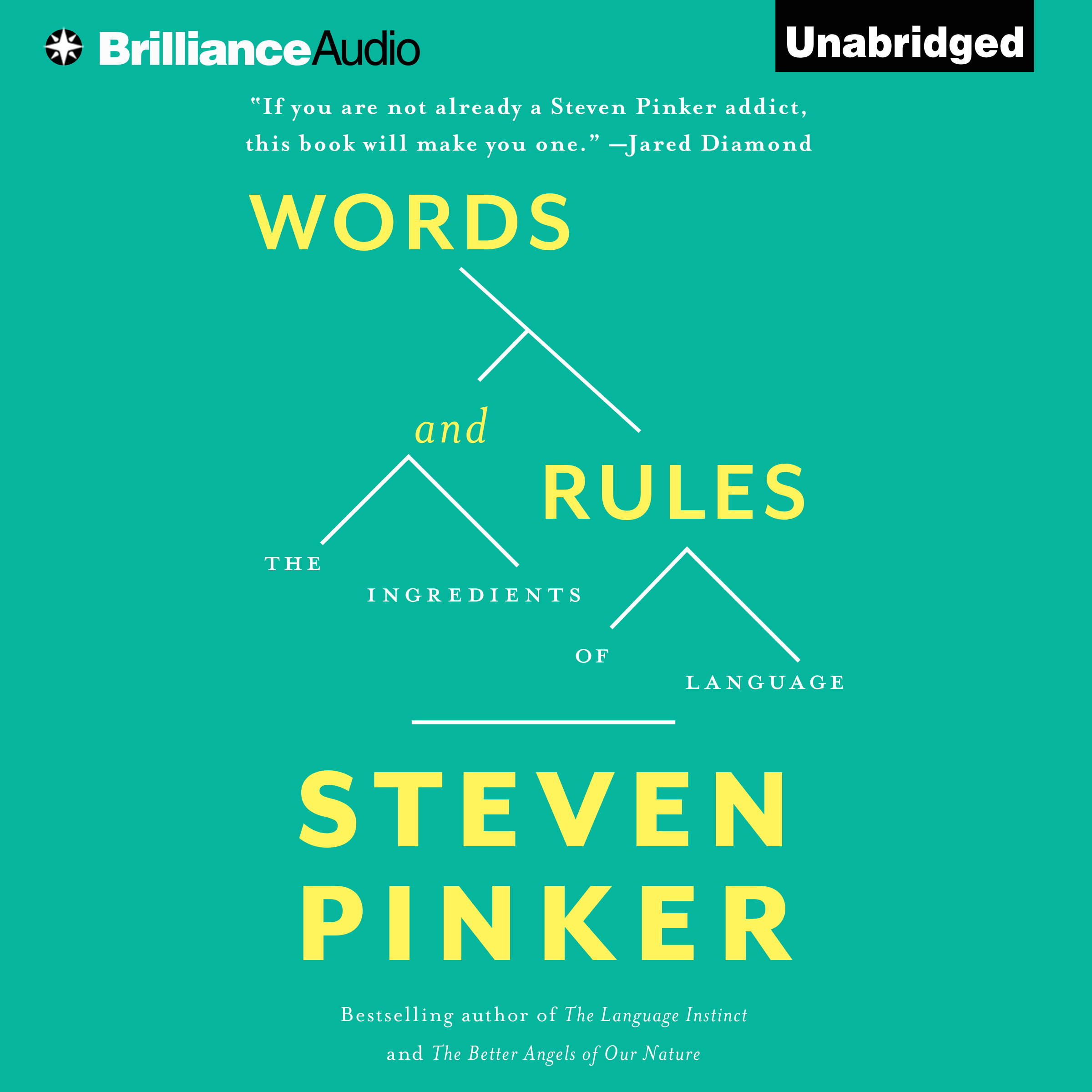 Printable Words and Rules: The Ingredients Of Language Audiobook Cover Art