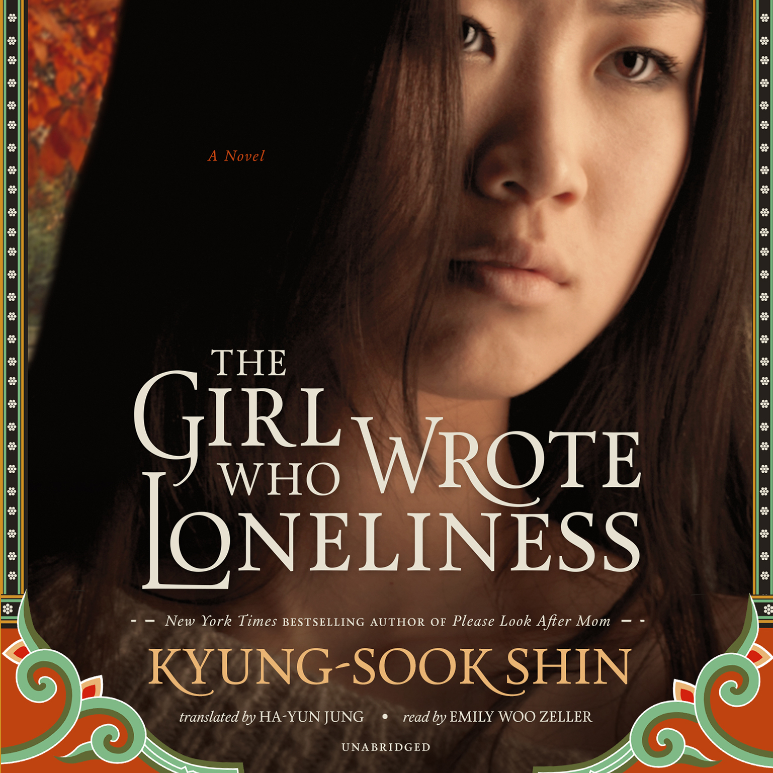 Printable The Girl Who Wrote Loneliness Audiobook Cover Art