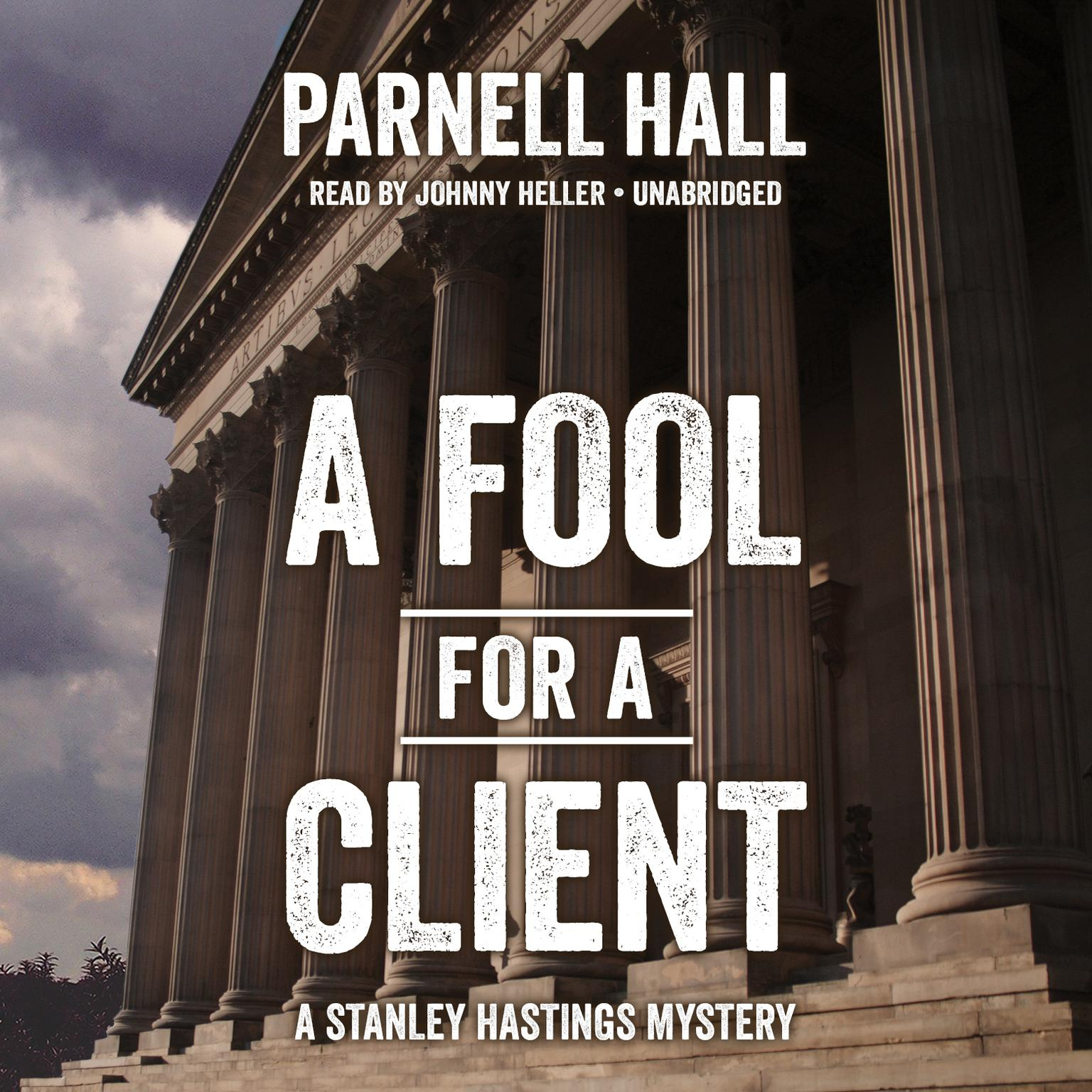 Printable A Fool for a Client Audiobook Cover Art