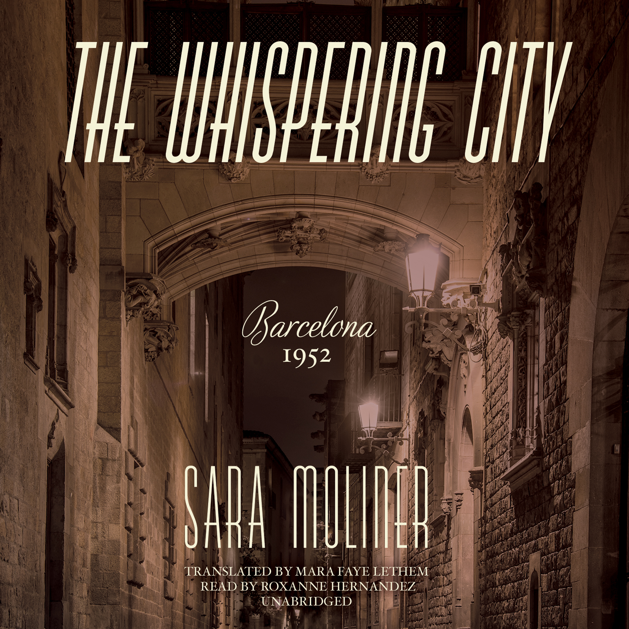 Printable The Whispering City Audiobook Cover Art