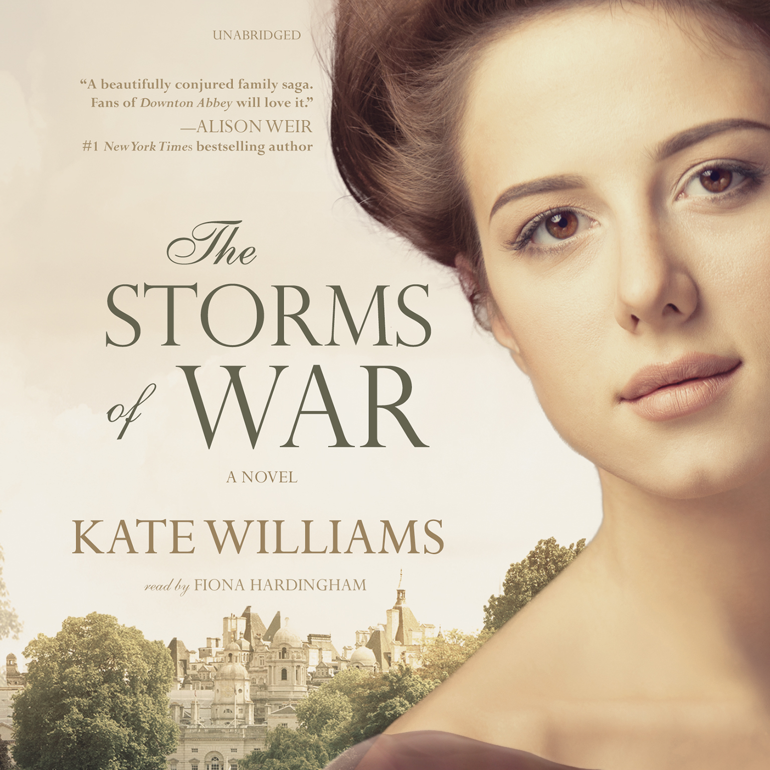 Printable The Storms of War Audiobook Cover Art