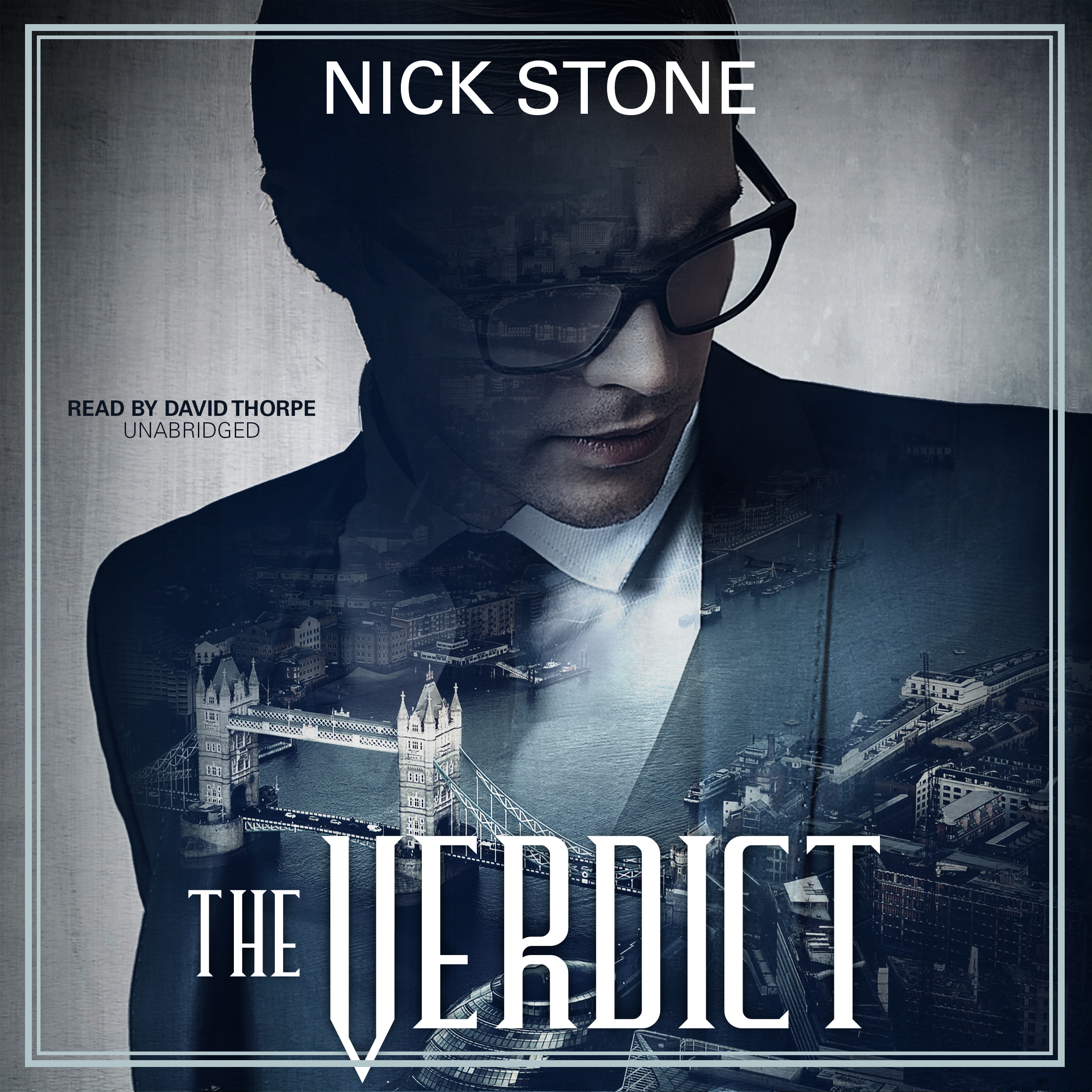 Printable The Verdict Audiobook Cover Art