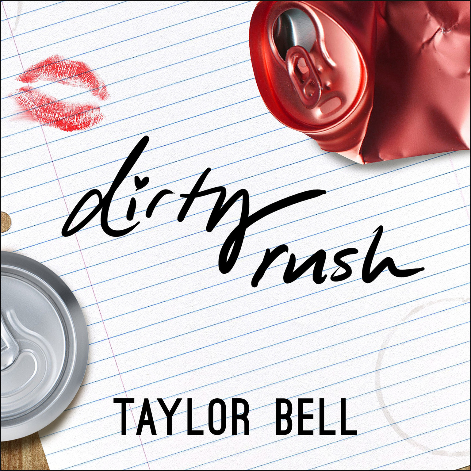 Printable Dirty Rush Audiobook Cover Art