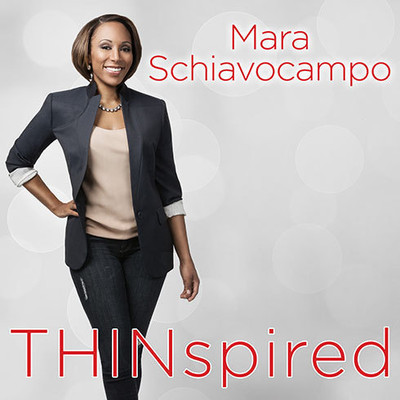 Thinspired: How I Lost 90 Pounds: My Plan for Lasting Weight Loss and Self-acceptance Audiobook, by Mara Schiavocampo
