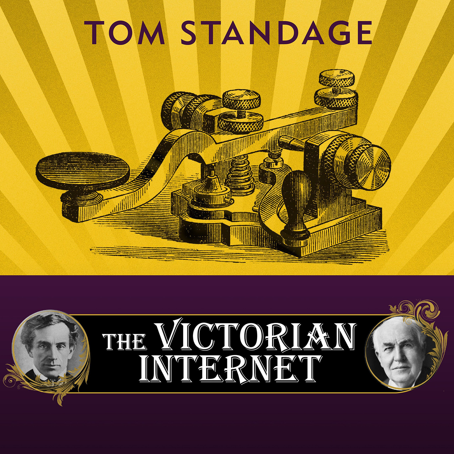 Printable The Victorian Internet: The Remarkable Story of the Telegraph and the Nineteenth Century's On-line Pioneers Audiobook Cover Art