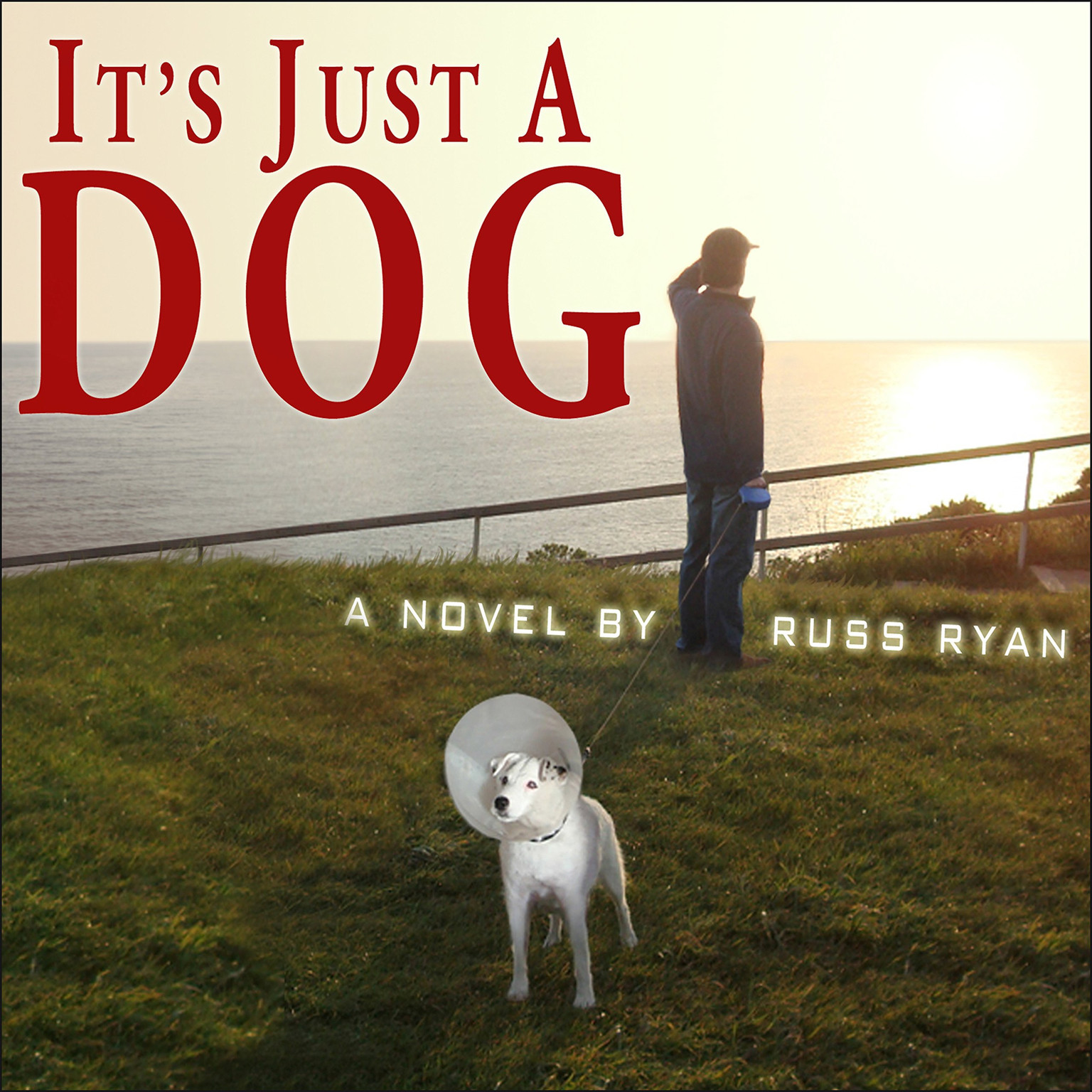 Printable It's Just a Dog Audiobook Cover Art