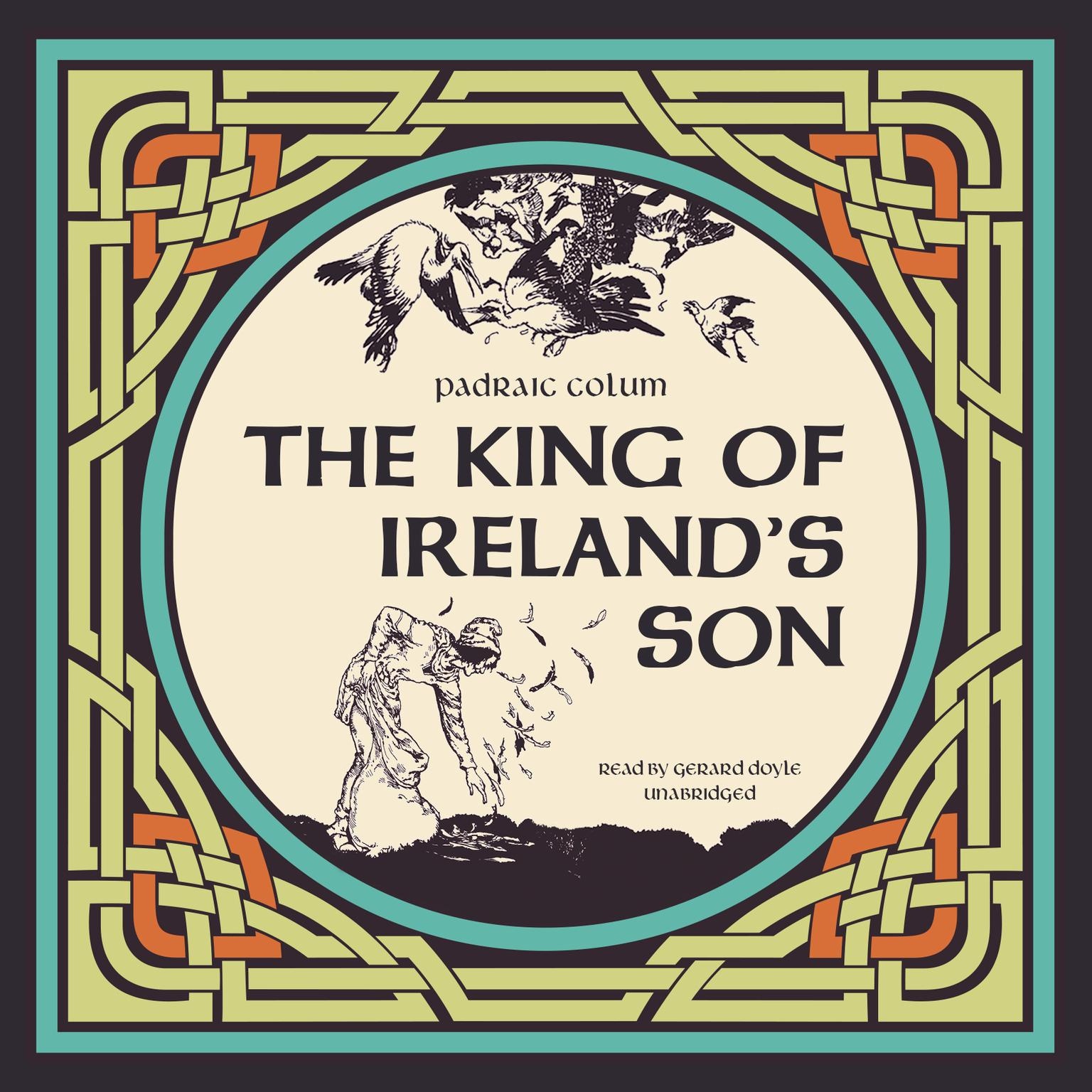 Printable The King of Ireland's Son Audiobook Cover Art