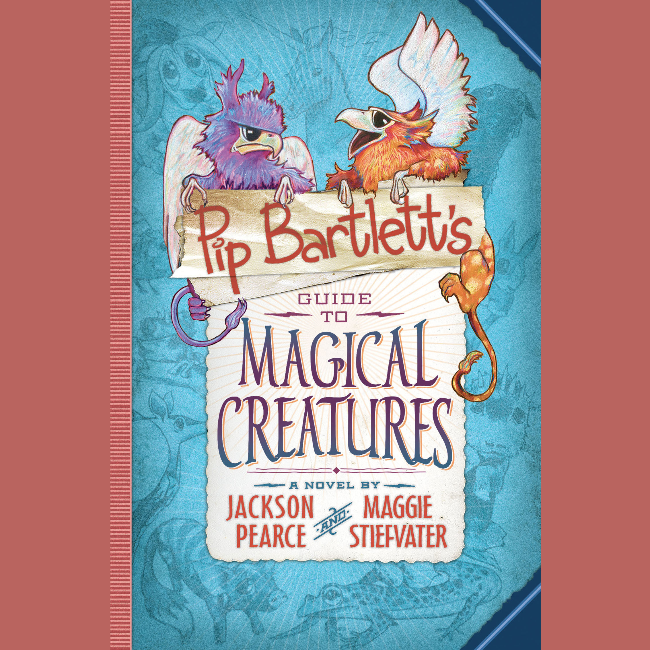 Printable Pip Bartlett's Guide to Magical Creatures Audiobook Cover Art