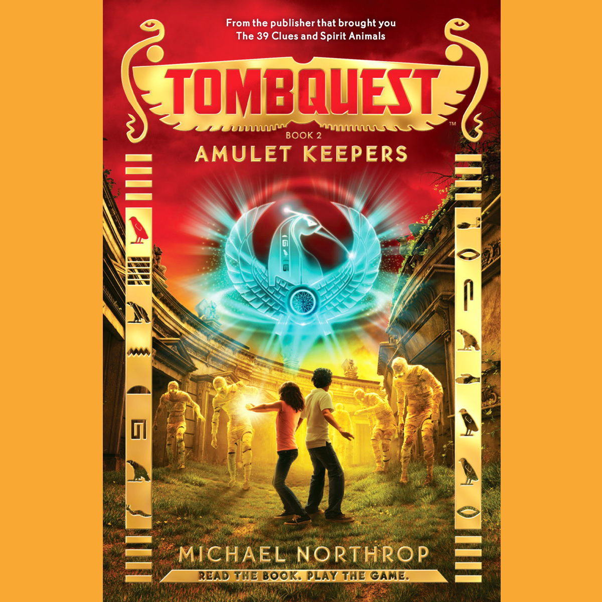 Printable Amulet Keepers Audiobook Cover Art