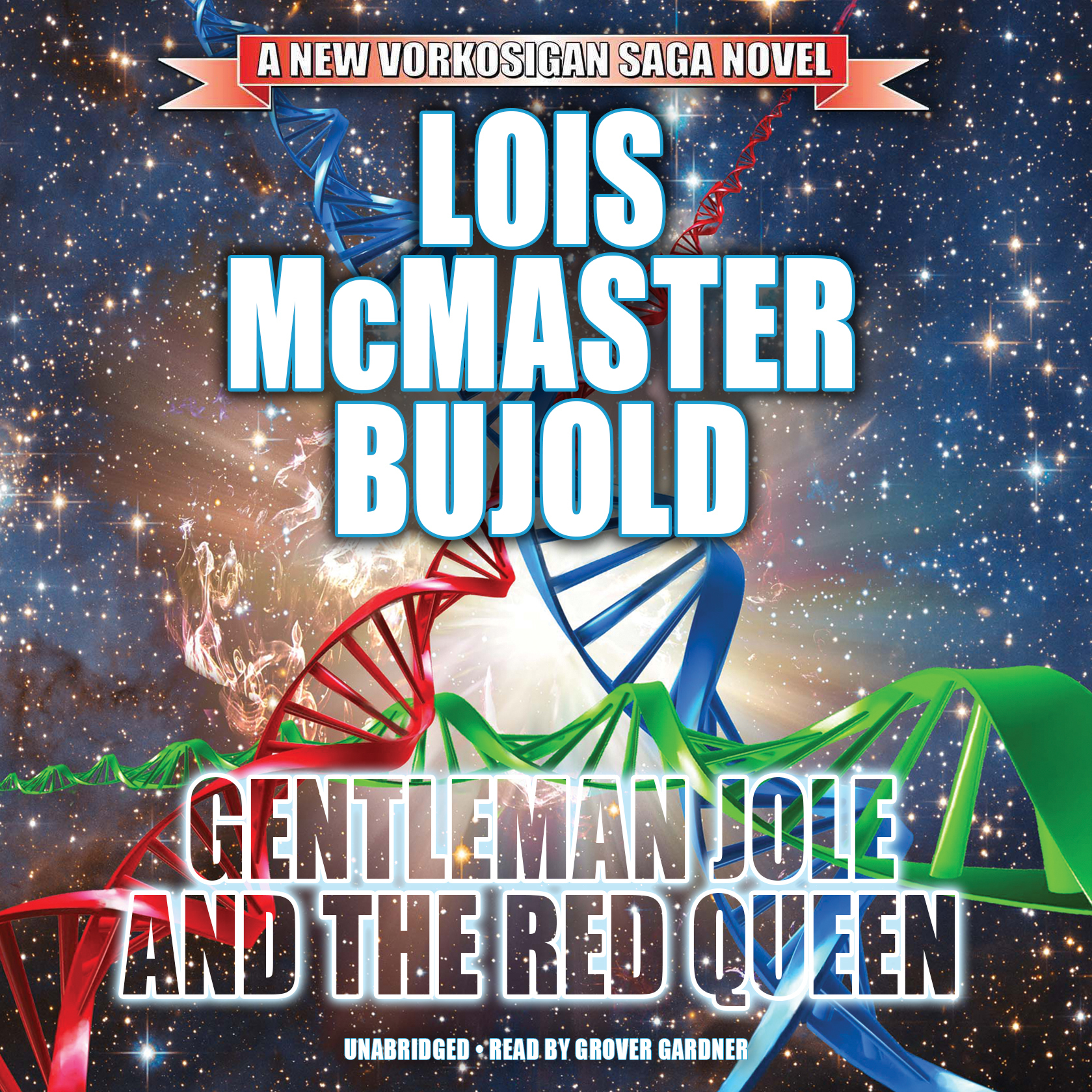 Printable Gentleman Jole and the Red Queen Audiobook Cover Art