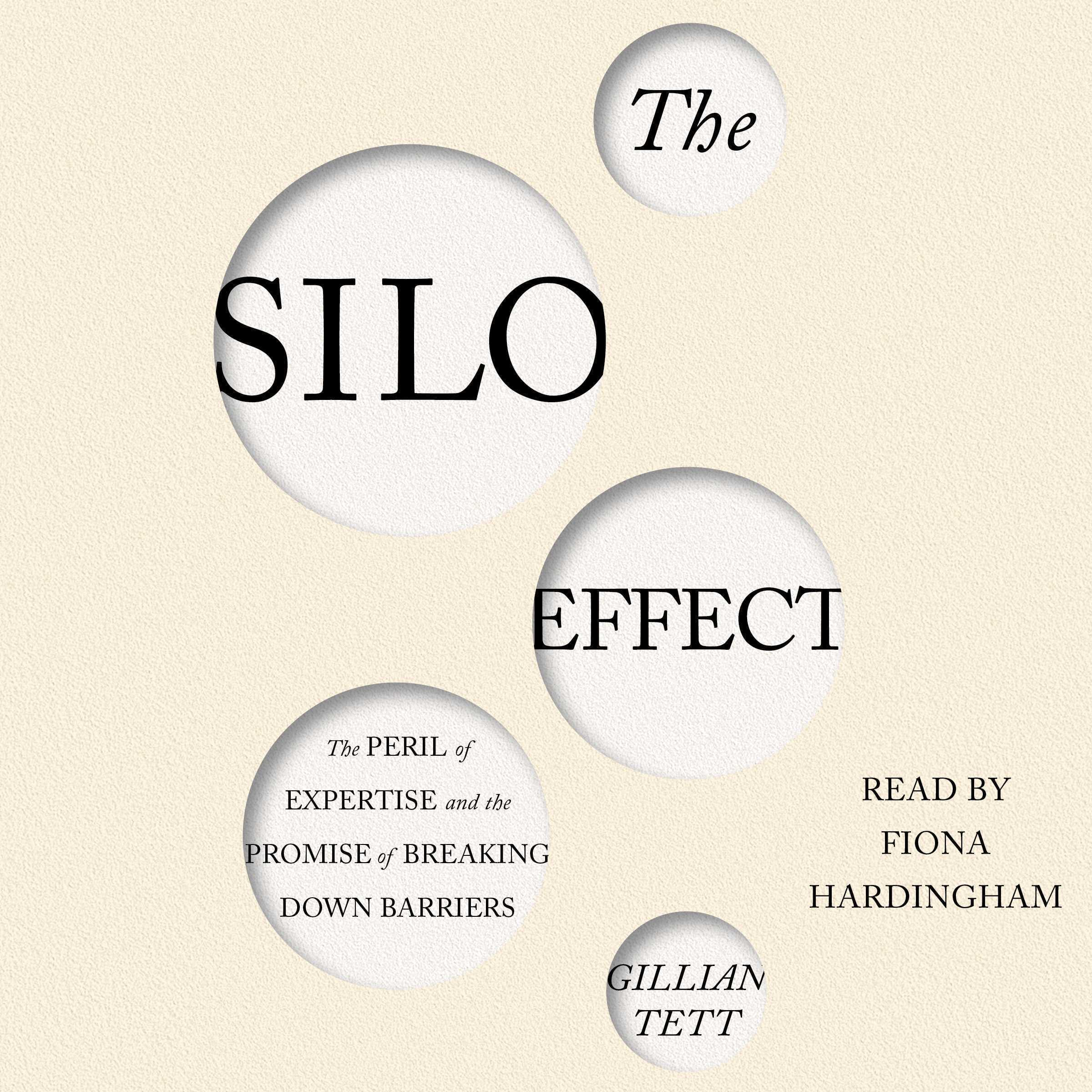 Printable The Silo Effect: The Peril of Expertise and the Promise of Breaking Down Barriers Audiobook Cover Art