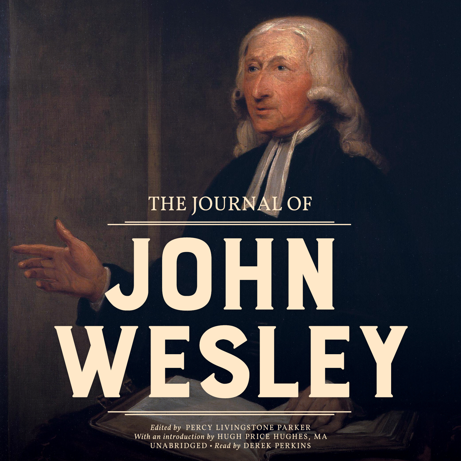 Printable The Journal of John Wesley Audiobook Cover Art