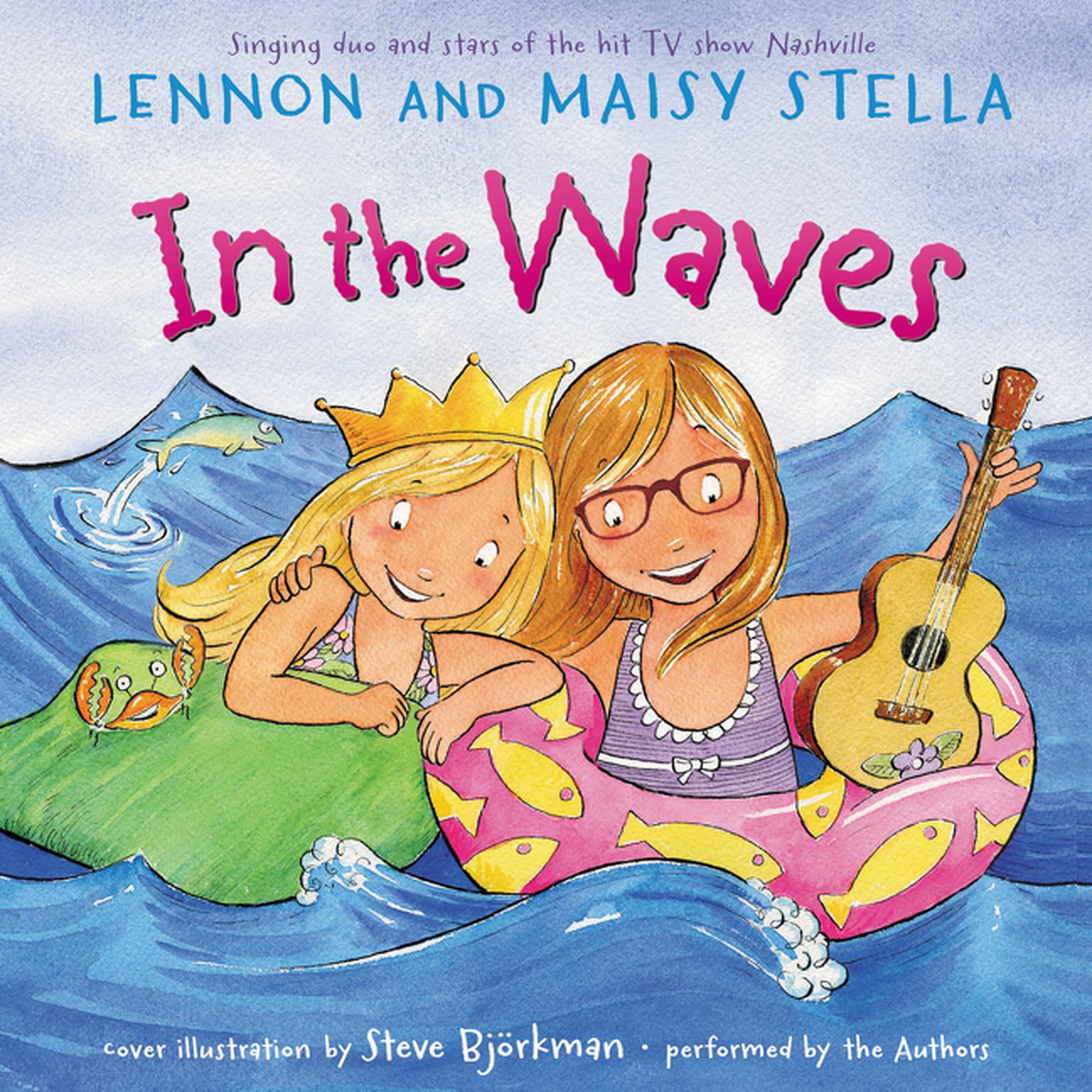 Printable In the Waves Audiobook Cover Art