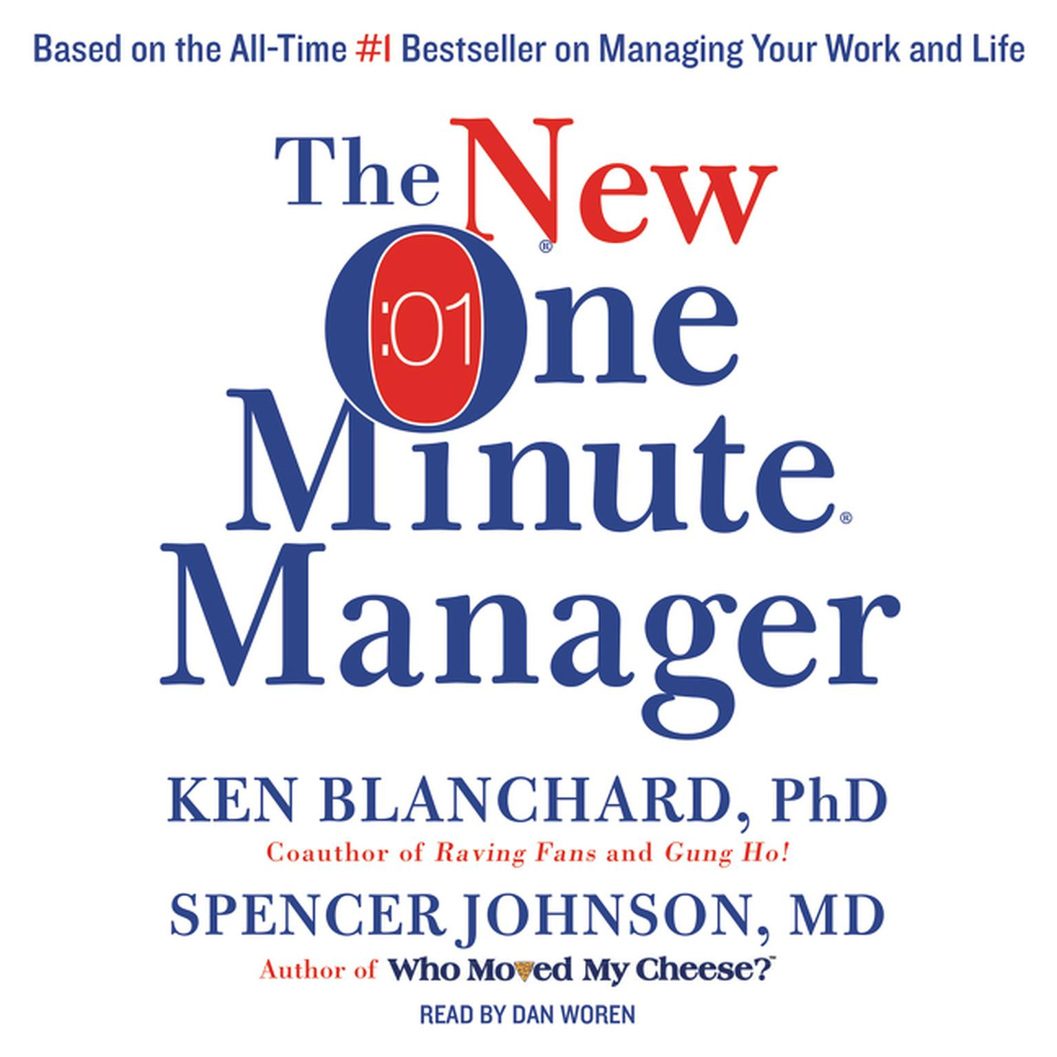 Printable The New One Minute Manager Audiobook Cover Art