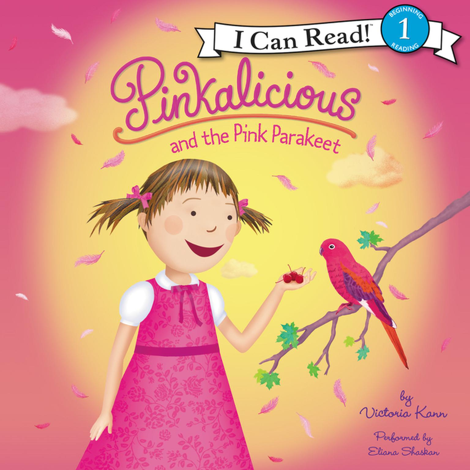 Printable Pinkalicious and the Pink Parakeet Audiobook Cover Art