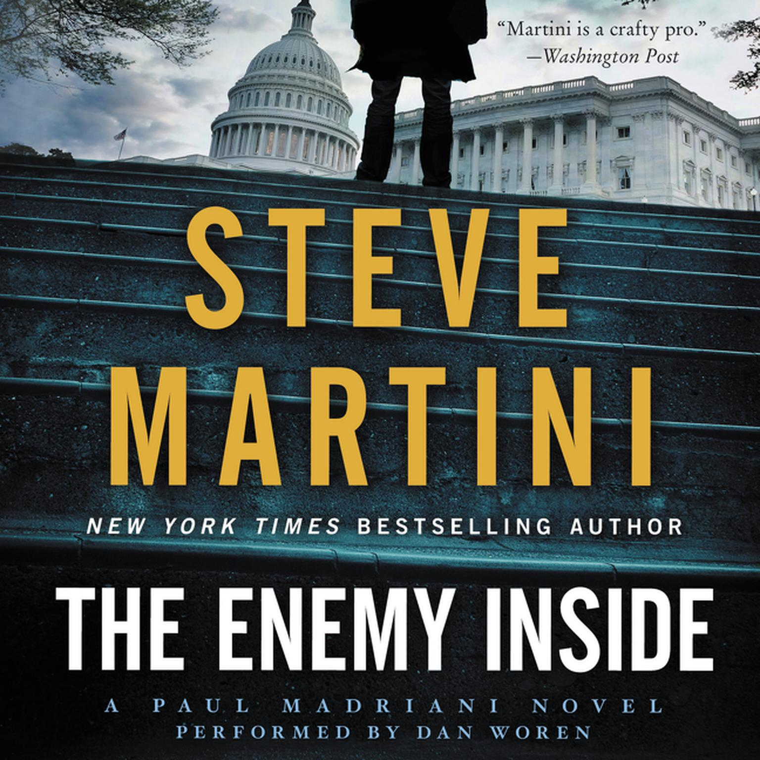 Printable The Enemy Inside Audiobook Cover Art