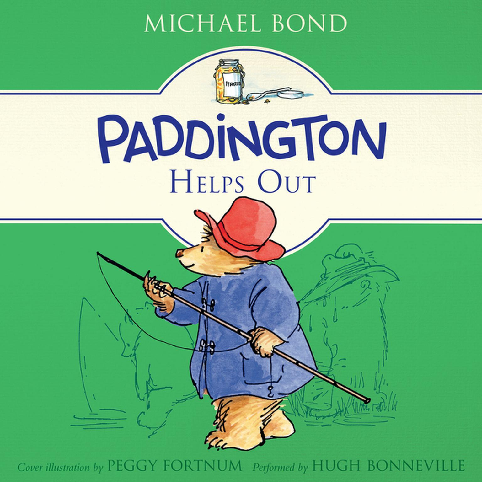 Printable Paddington Helps Out Audiobook Cover Art
