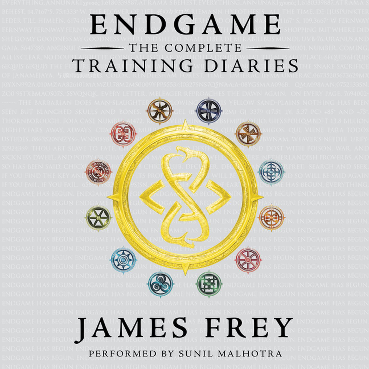 Printable Endgame: The Complete Training Diaries: Volumes 1, 2, and 3 Audiobook Cover Art