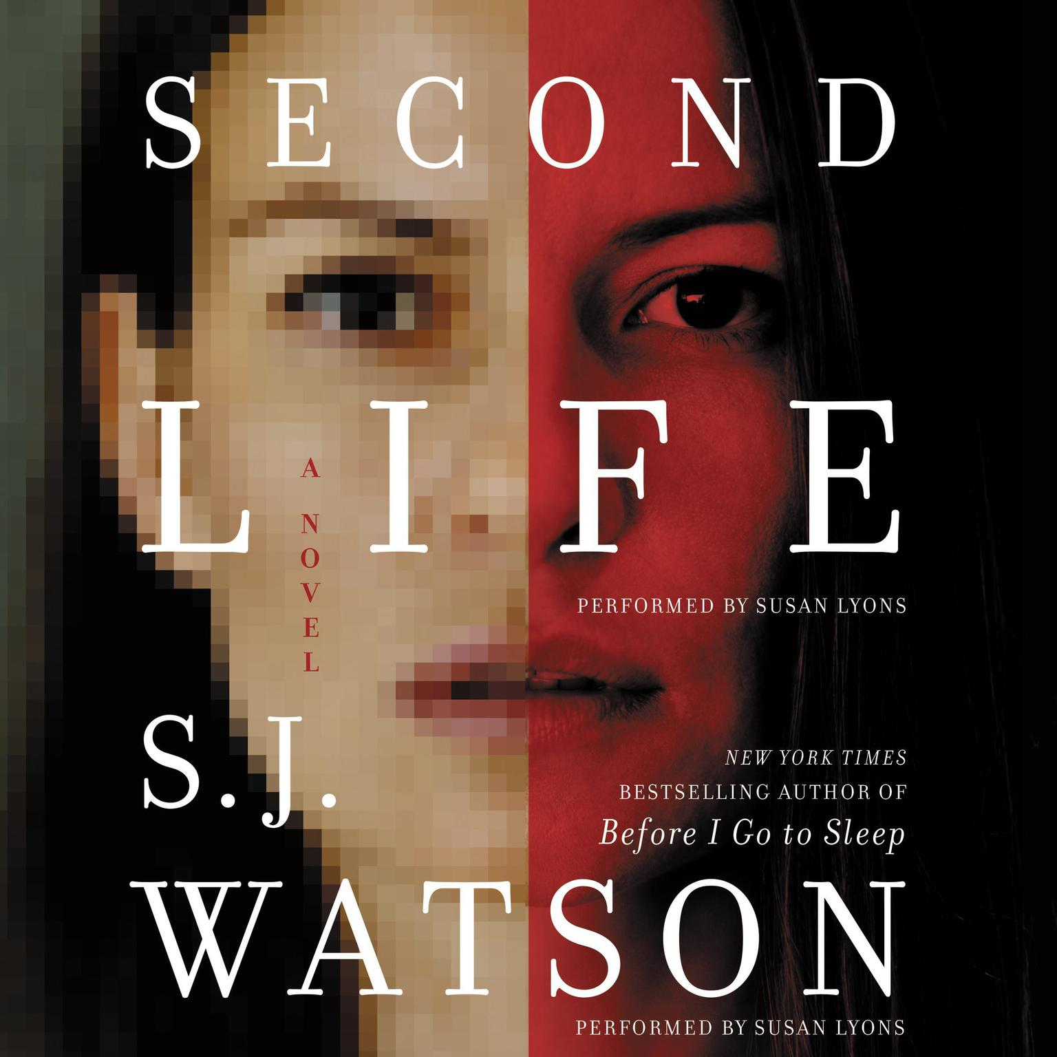 Printable Second Life: A Novel Audiobook Cover Art