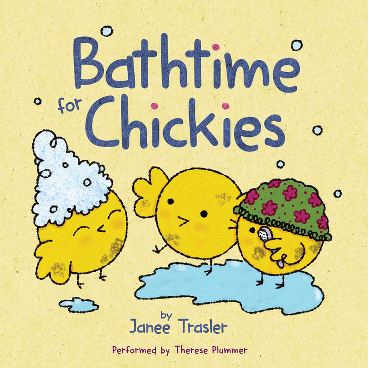 Printable Bathtime for Chickies Audiobook Cover Art