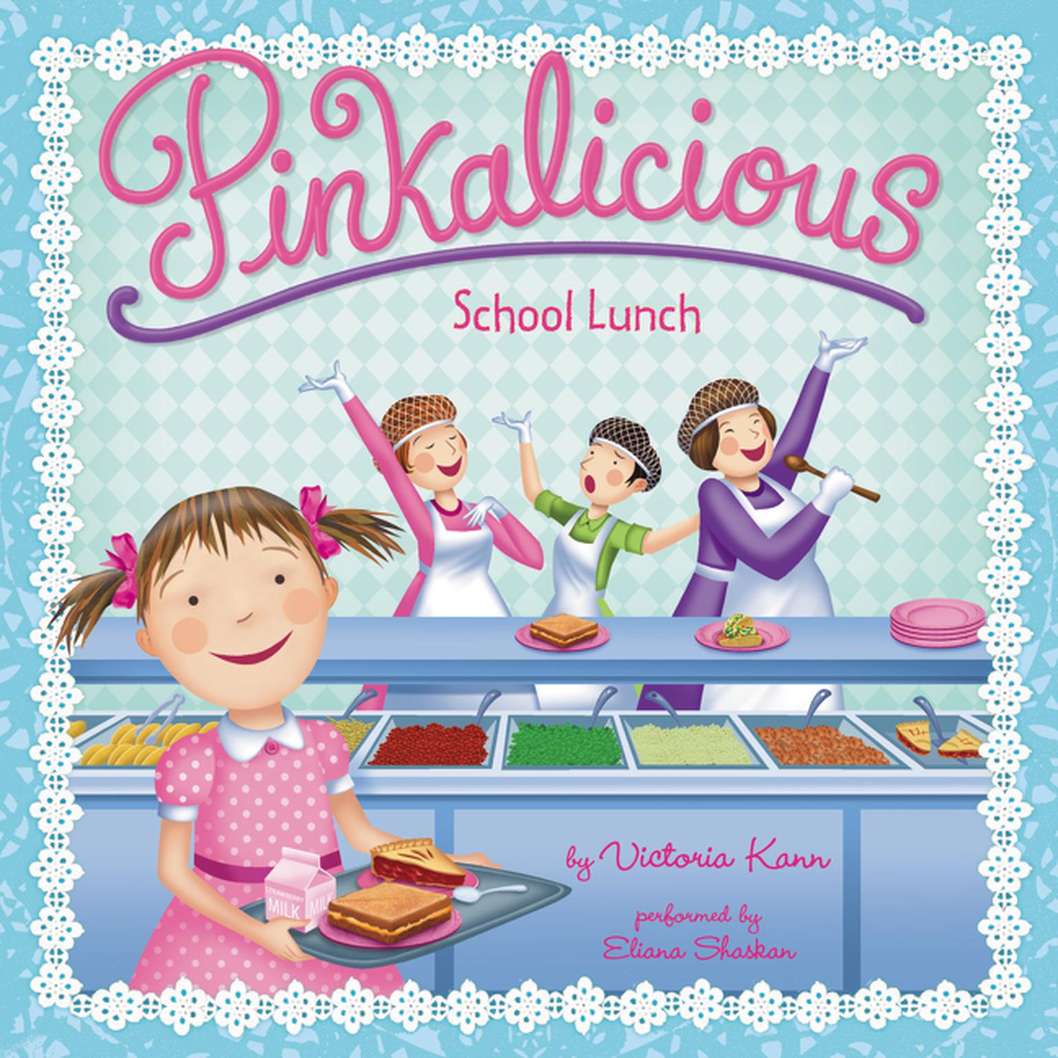 Printable Pinkalicious: School Lunch Audiobook Cover Art