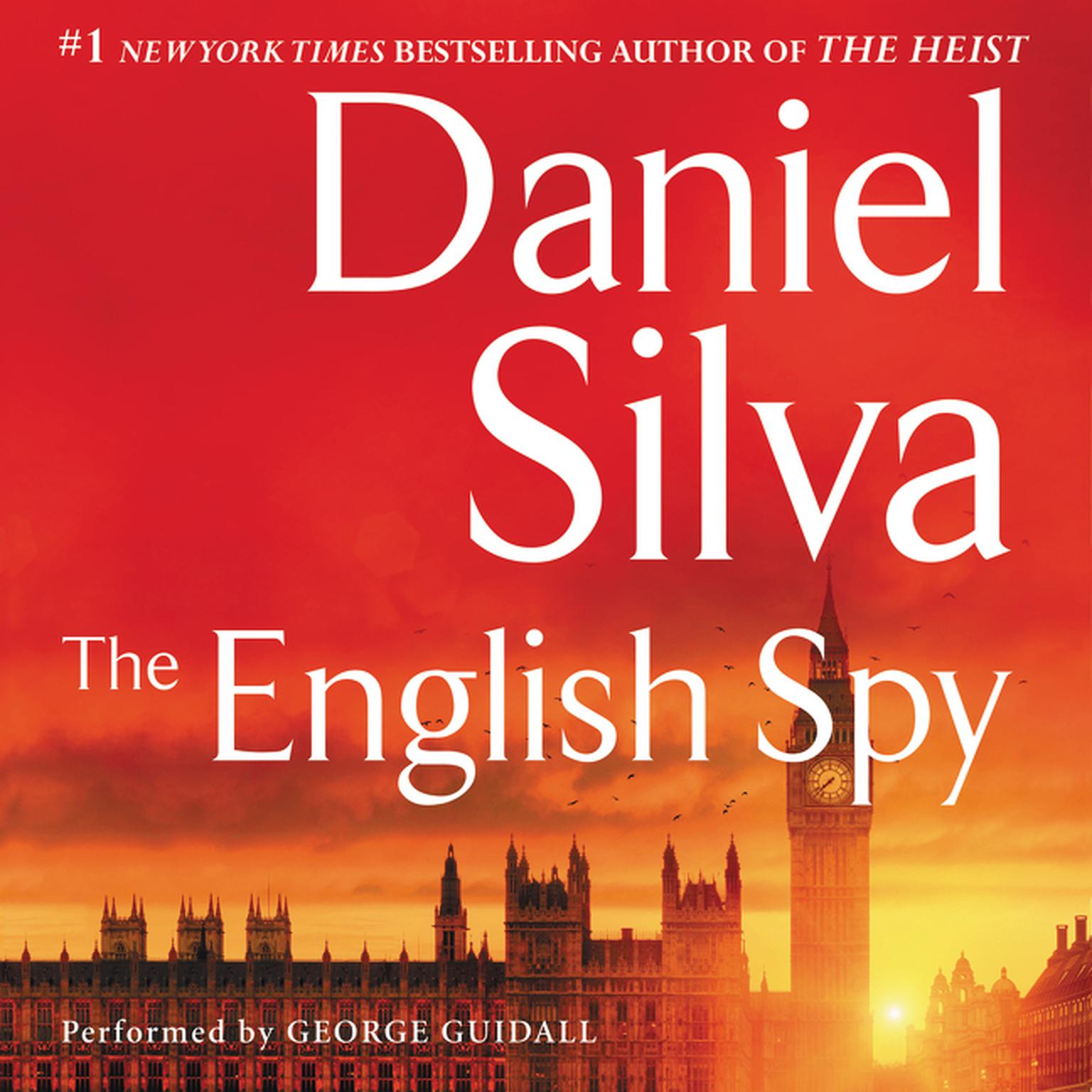 Printable The English Spy Audiobook Cover Art
